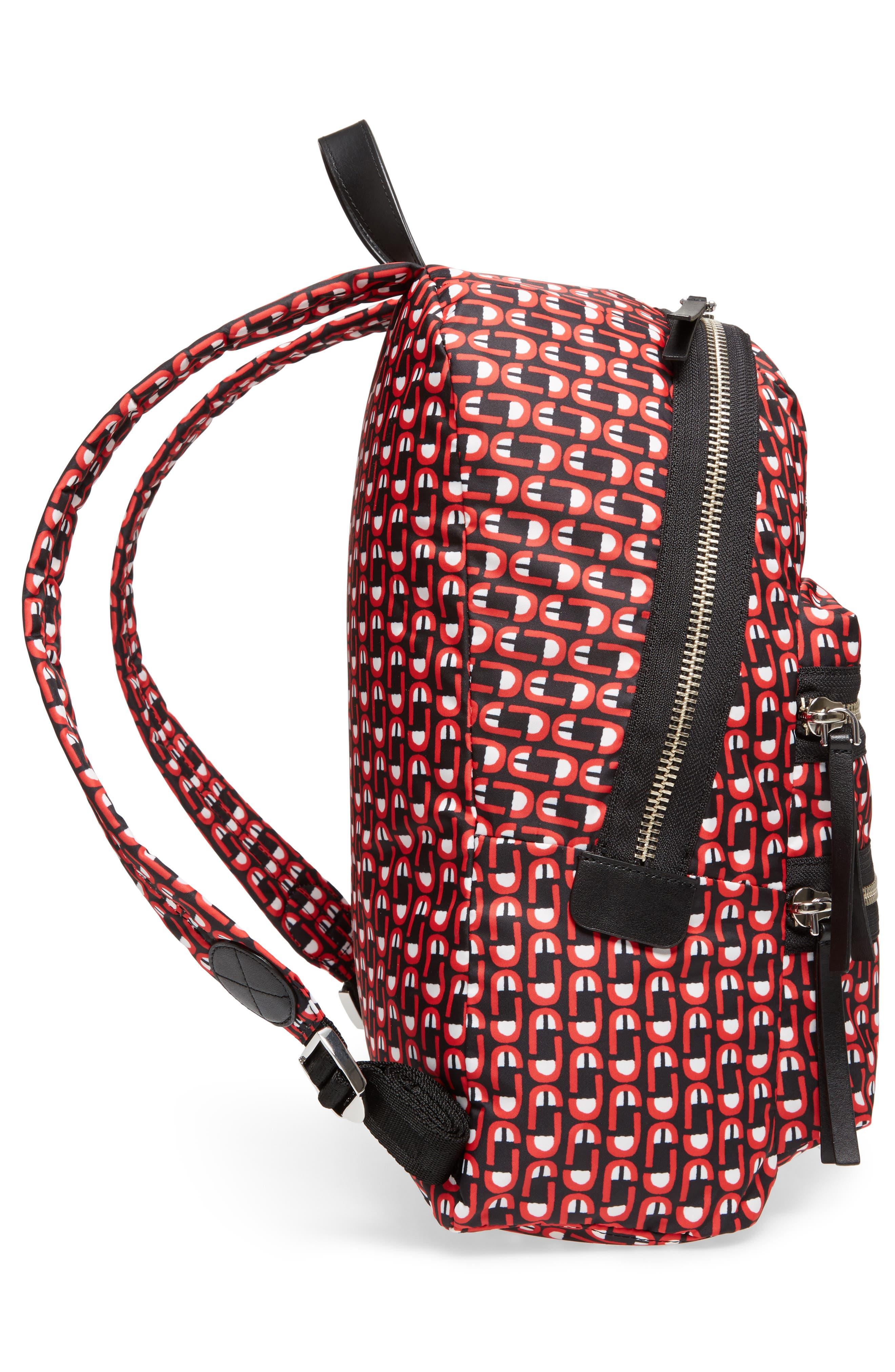 Alternate Image 5  - MARC JACOBS Logo Scream Biker Backpack
