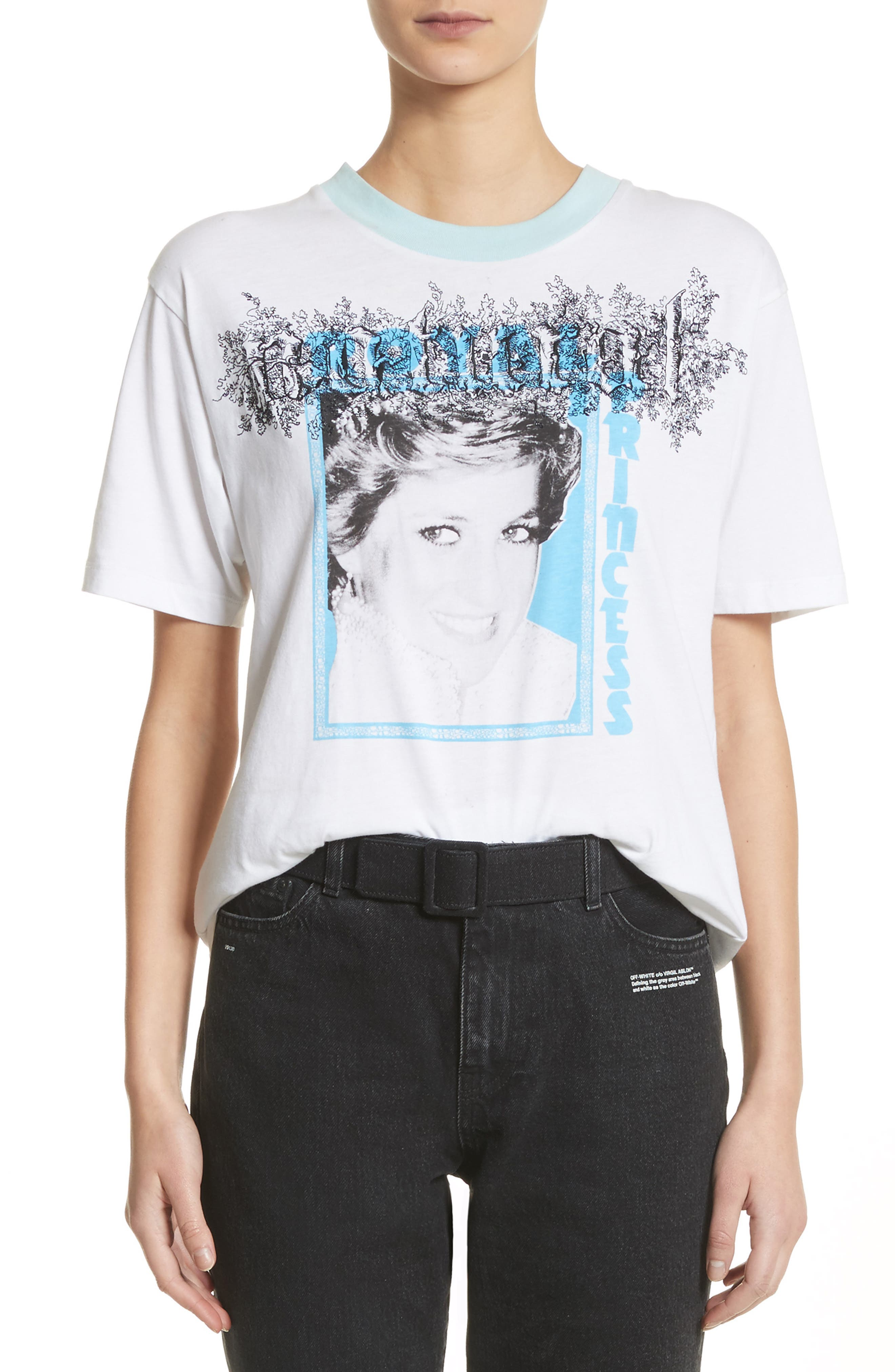 Off-White Tribute Oversize Tee