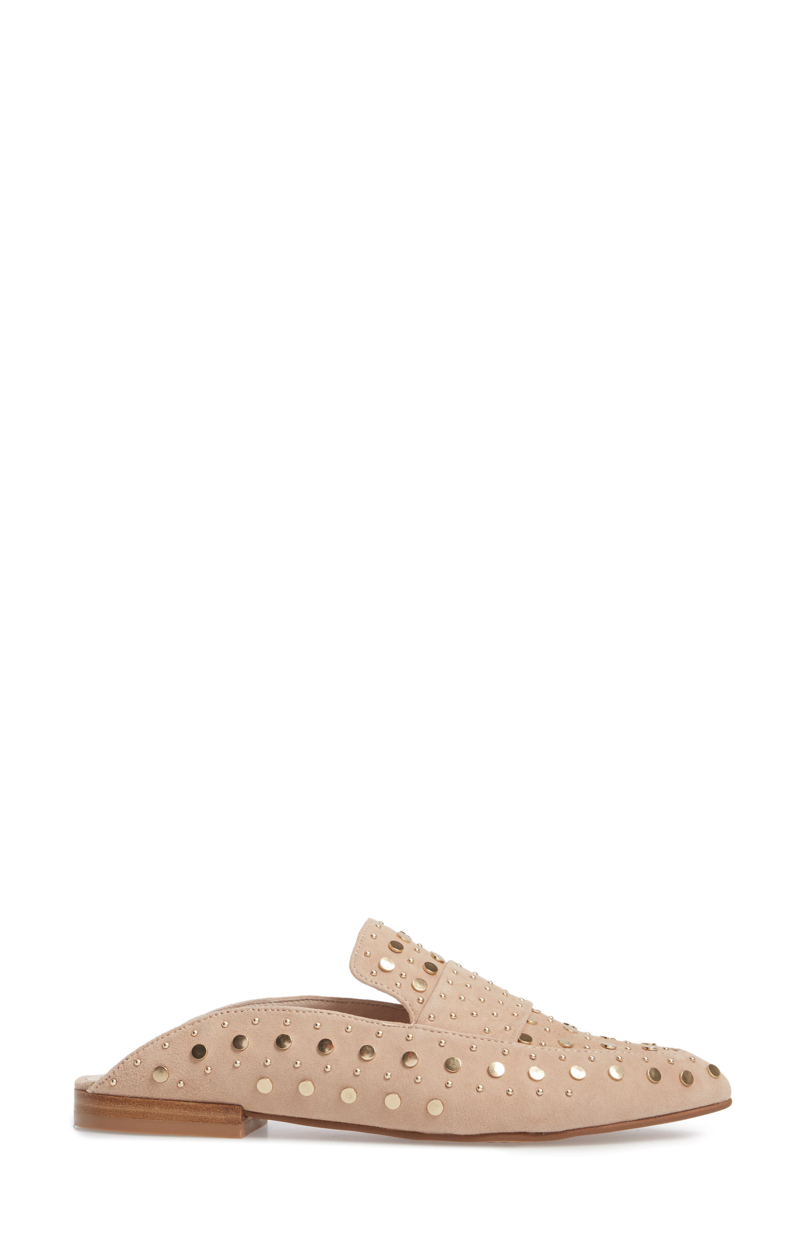 Alternate Image 3  - Kristin Cavallari Charlie Studded Loafer Mule (Women)
