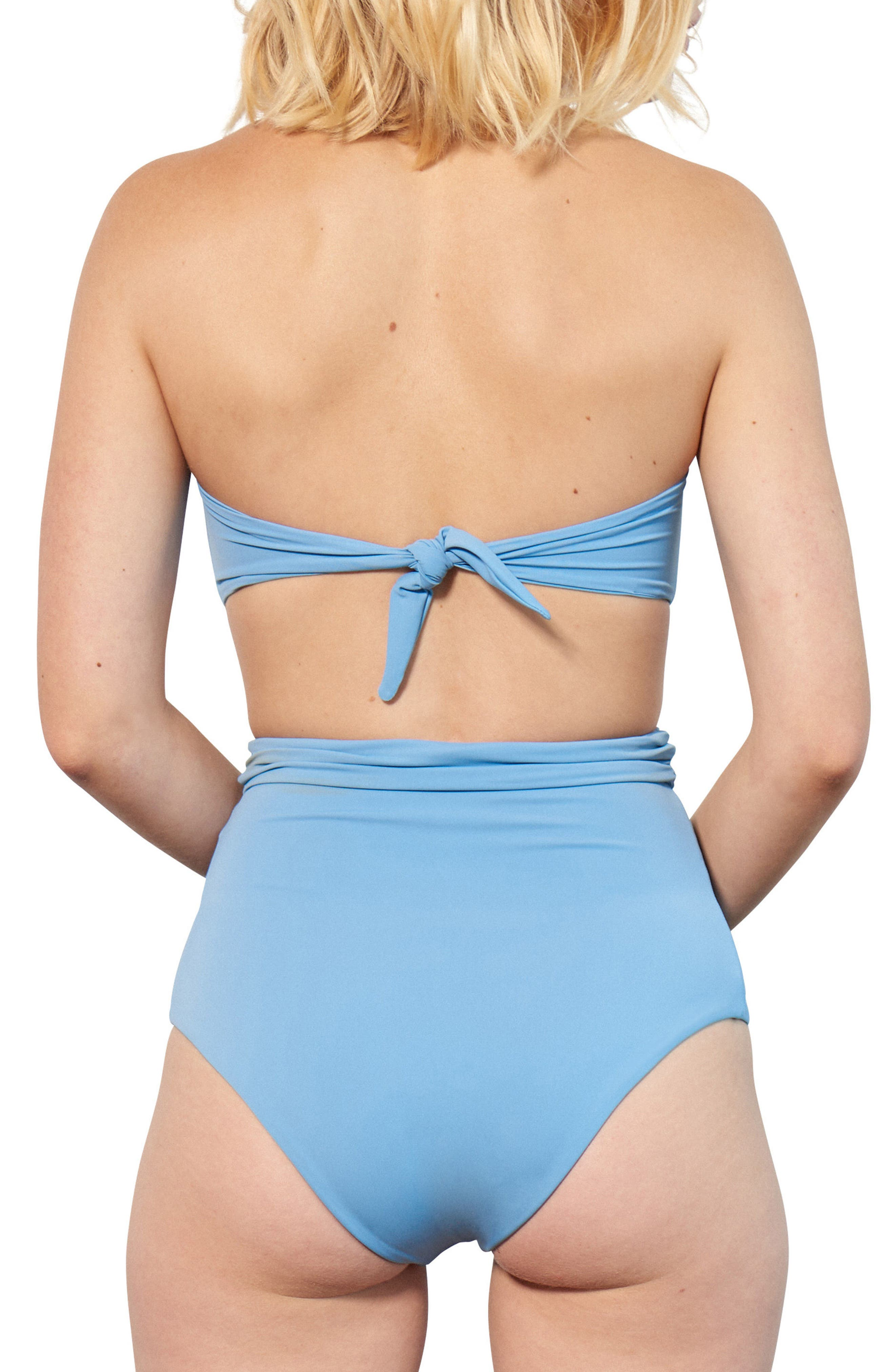Chey Twist Bikini Top,                             Alternate thumbnail 3, color,                             Vento