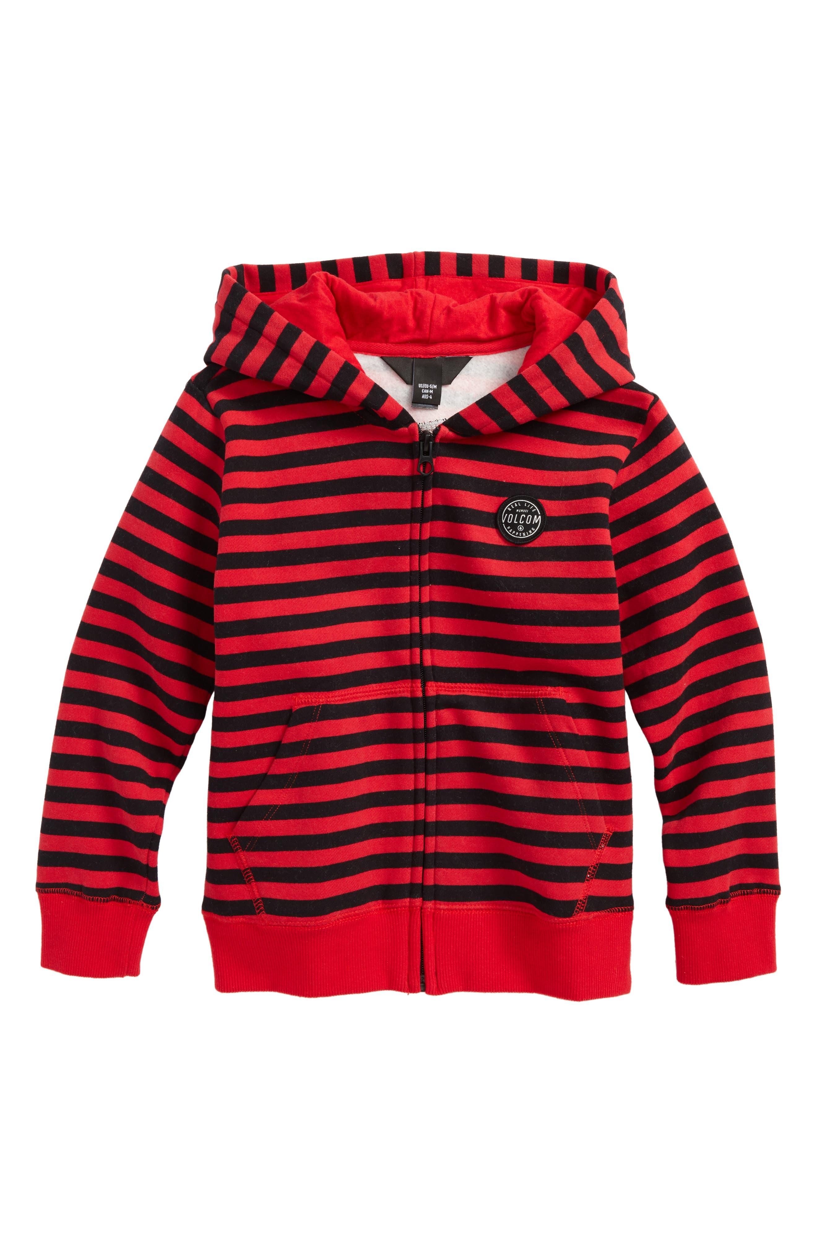 Kraystone Zip Hoodie,                         Main,                         color, True Red