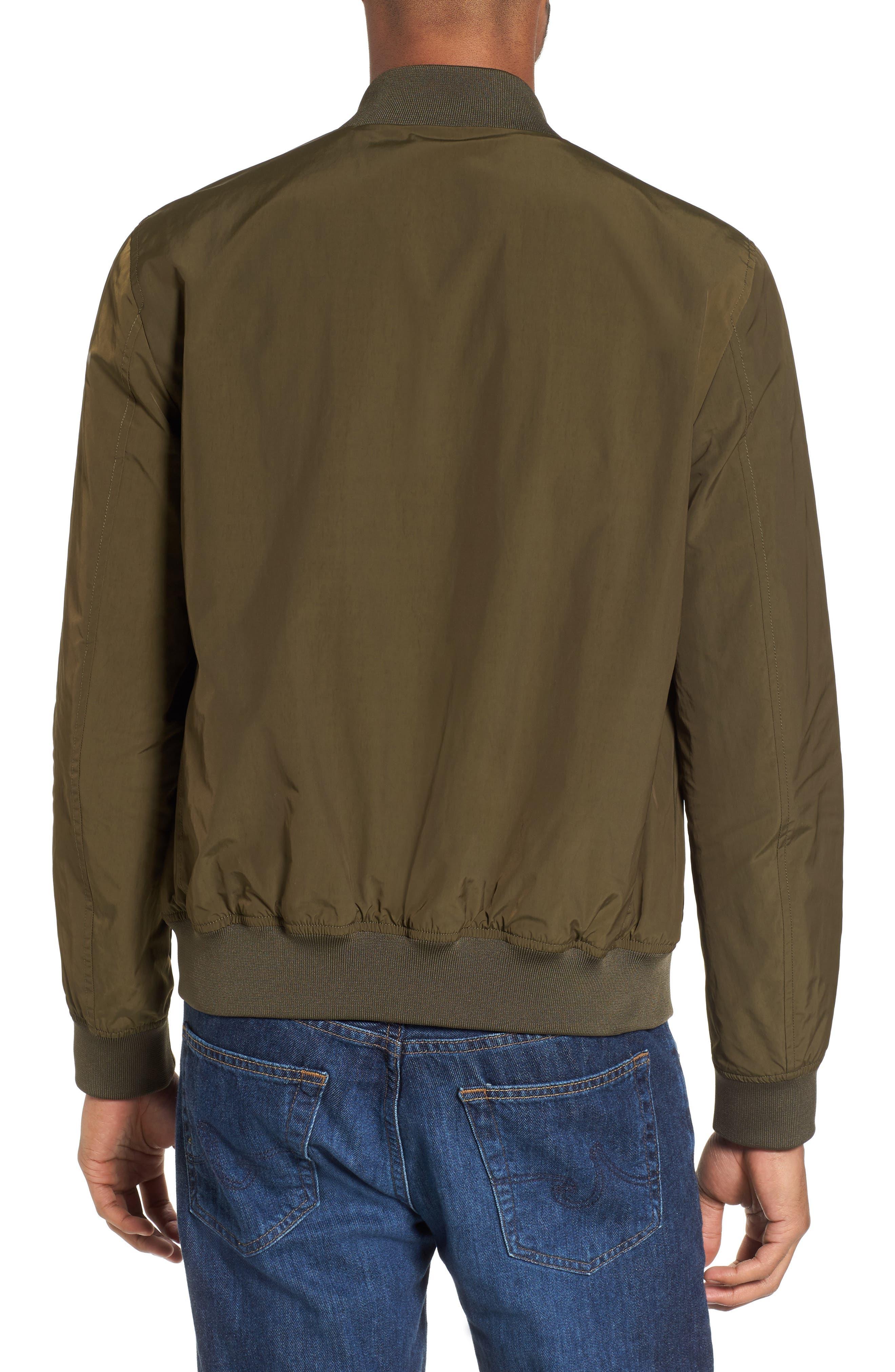 Shore Bomber Jacket,                             Alternate thumbnail 2, color,                             Tenkara Green