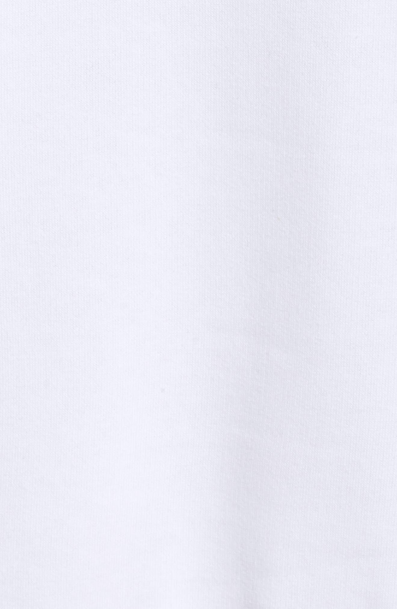 En Pointe Drawstring Dress,                             Alternate thumbnail 6, color,                             Puma White