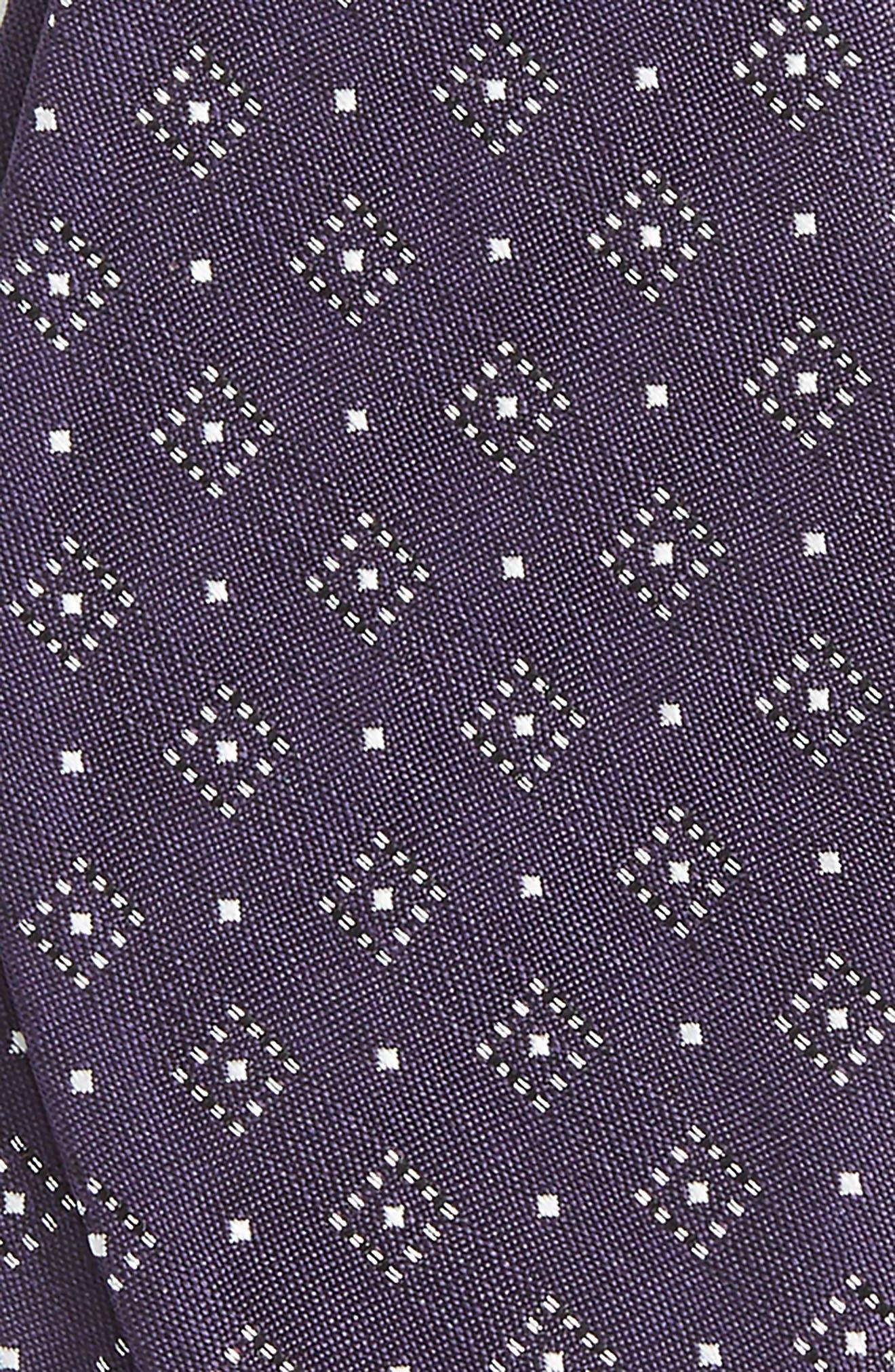 Alternate Image 3  - The Tie Bar Geometric Gala Silk Bow Tie