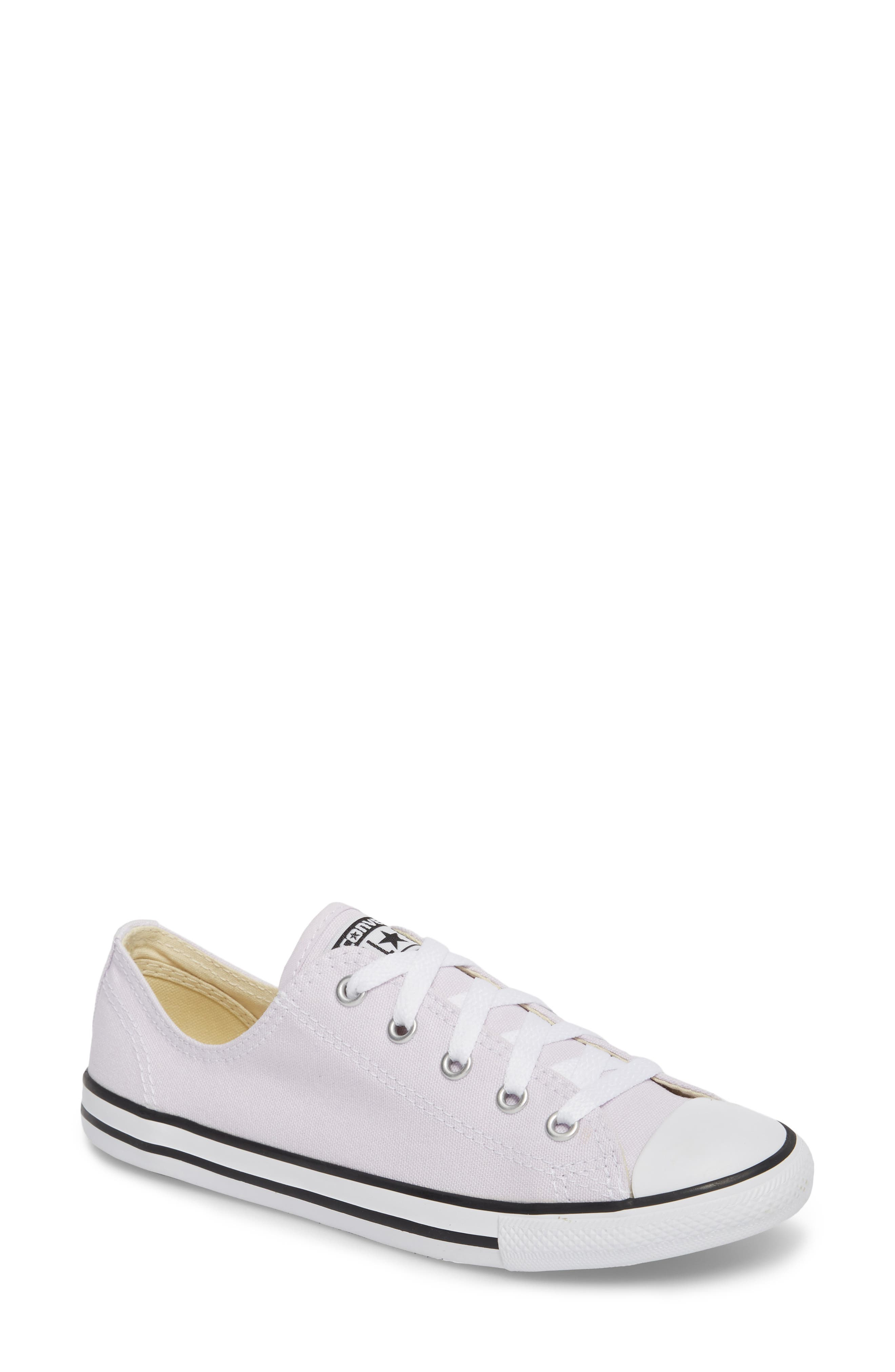 Alternate Image 1 Selected - Converse Chuck Taylor® All Star® Dainty Ox Low Top Sneaker (Women)
