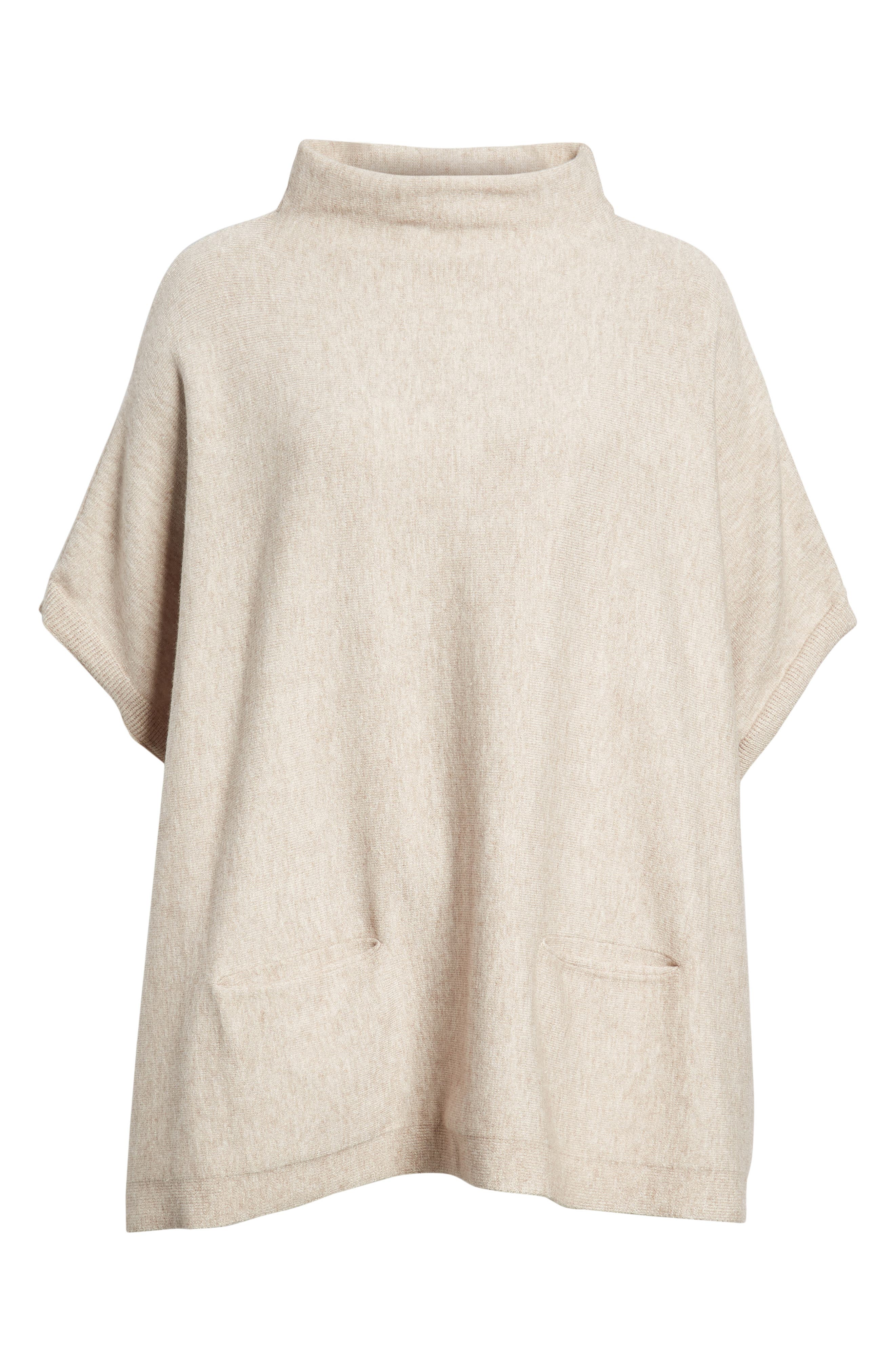 RD Style Boxy Pocket Sweater,                             Main thumbnail 1, color,                             Oatmeal