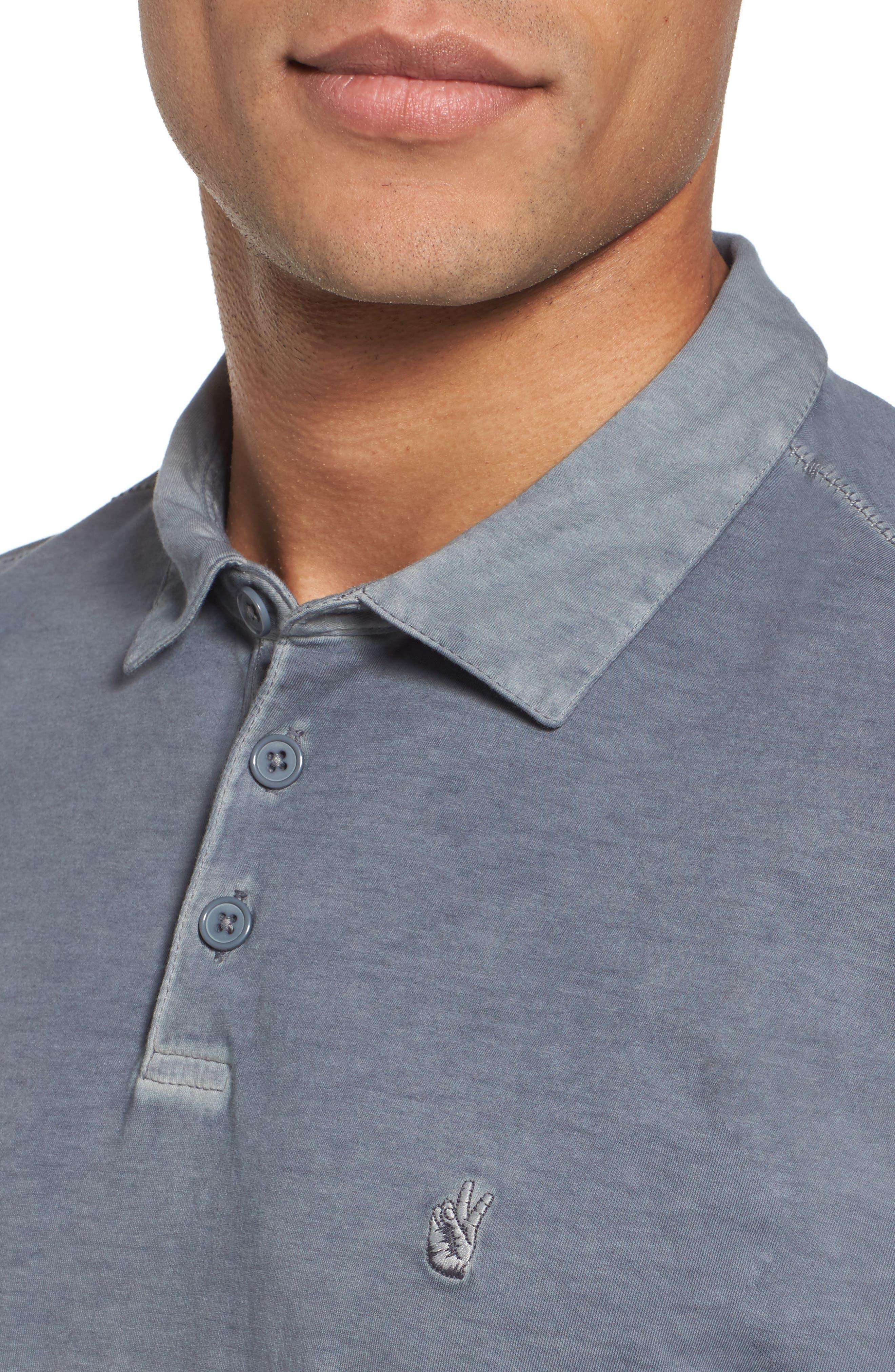 Alternate Image 4  - John Varvatos Collection Regular Fit Polo