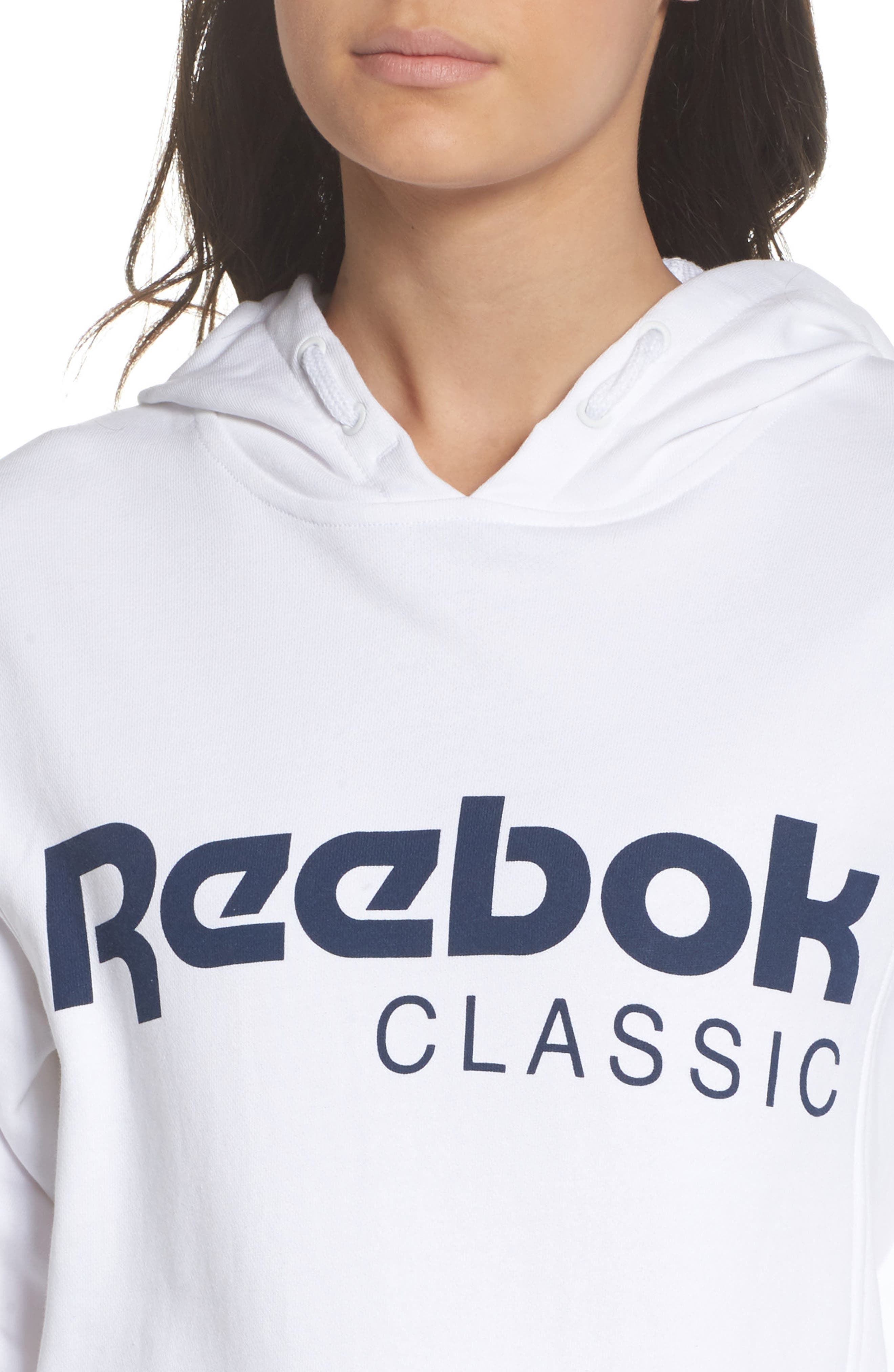 Alternate Image 4  - Reebok Foundation French Terry Hoodie