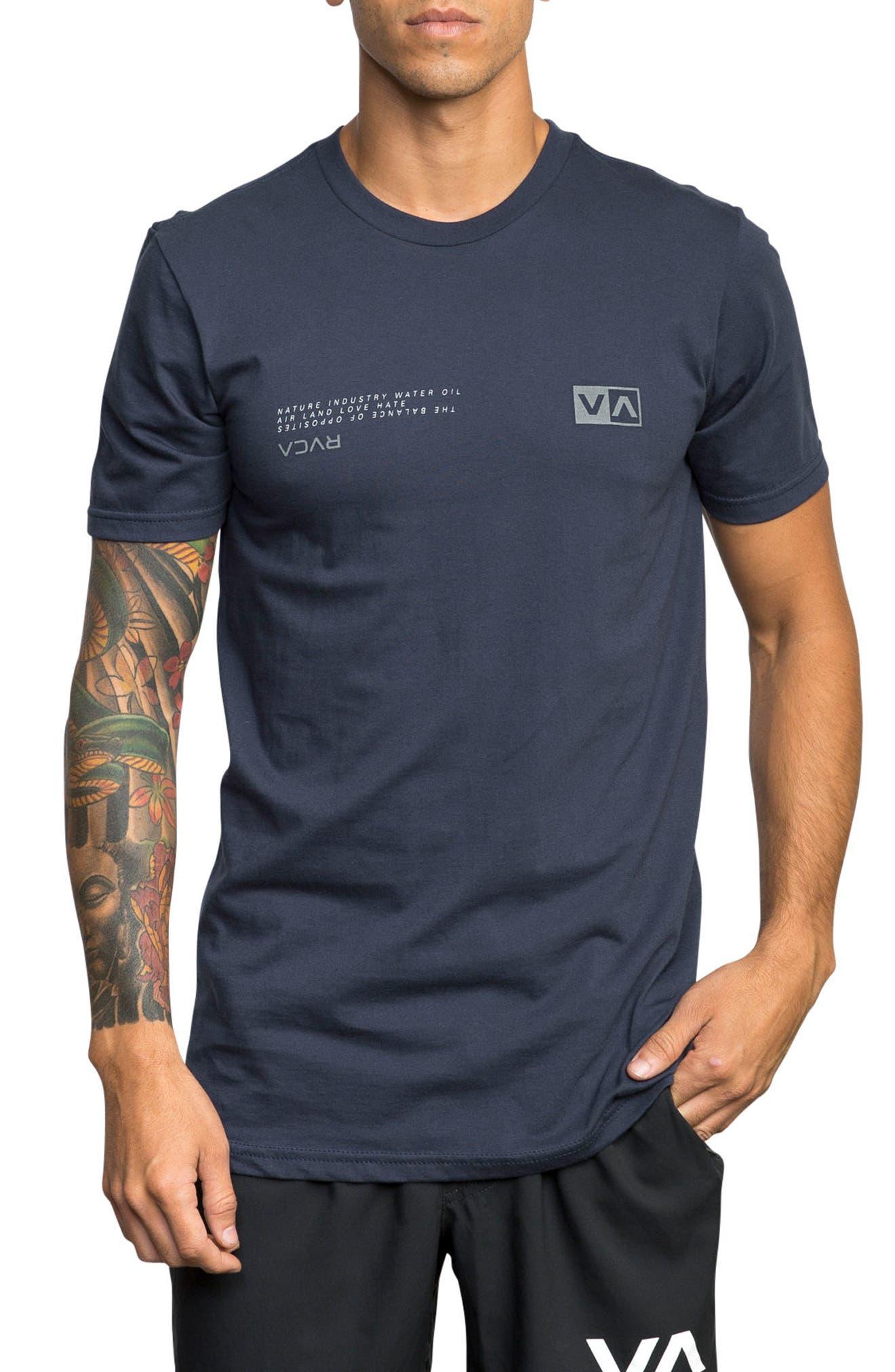 Balance Reflect T-Shirt,                             Main thumbnail 1, color,                             Classic Indigo