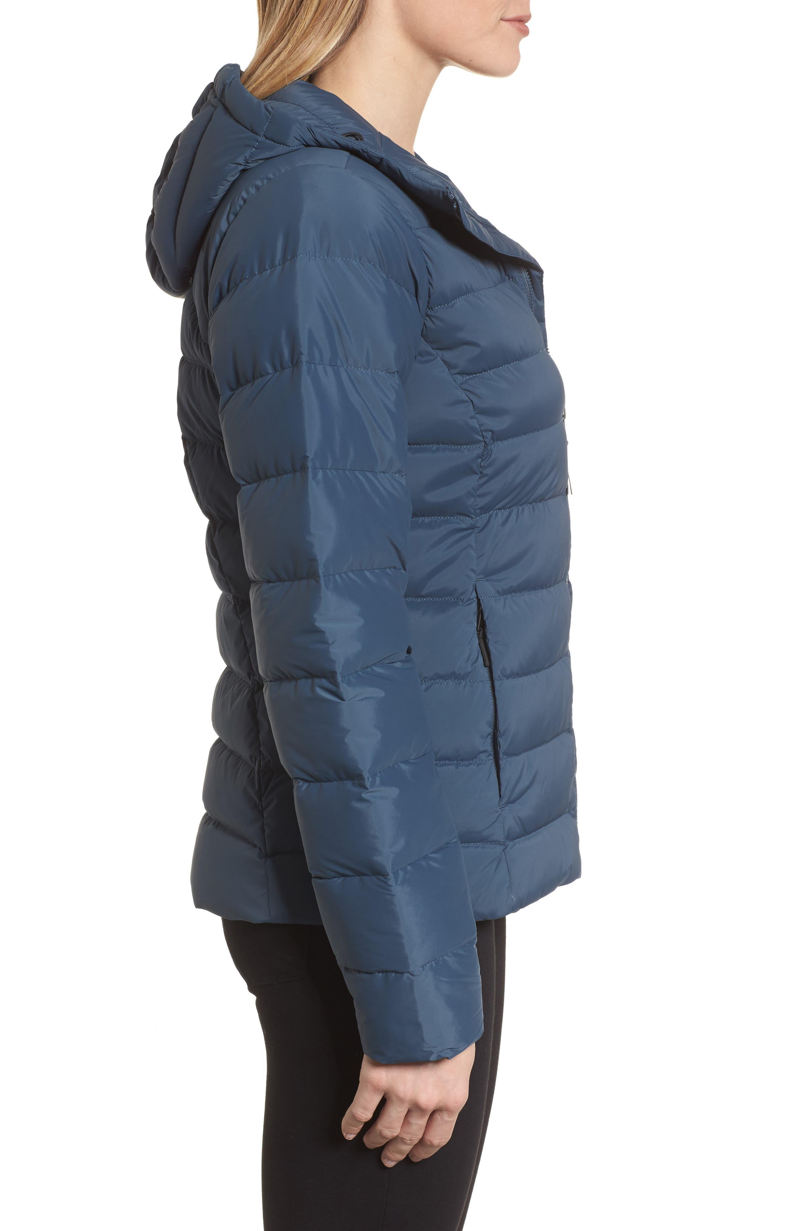 Alternate Image 3  - The North Face W Hooded Stretch Down Jacket