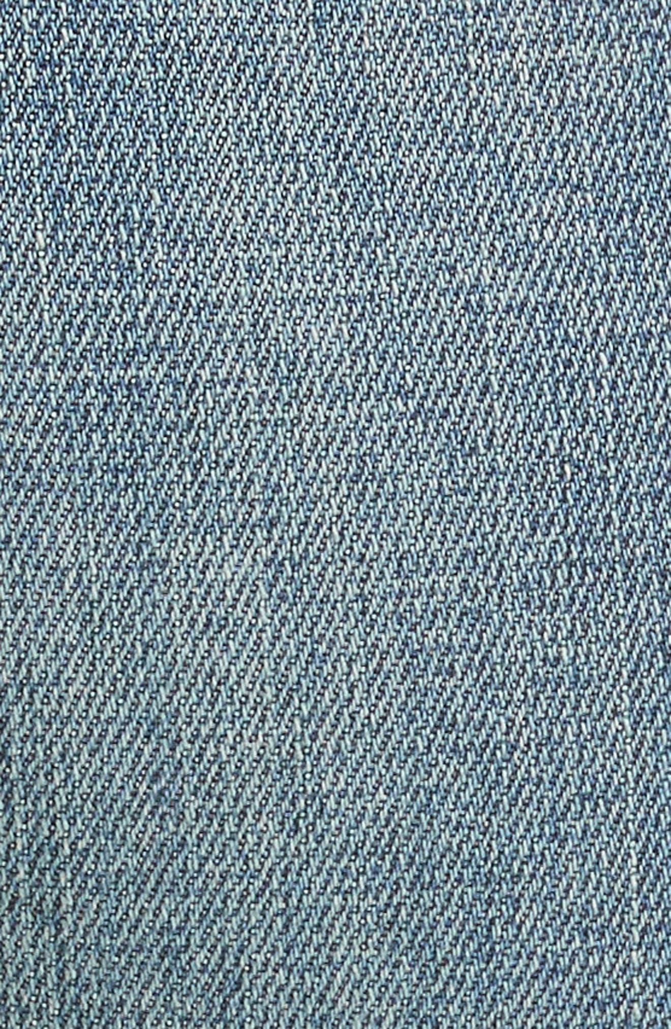 Le Garçon Crop Boyfriend Jeans,                             Alternate thumbnail 5, color,                             Kaufman