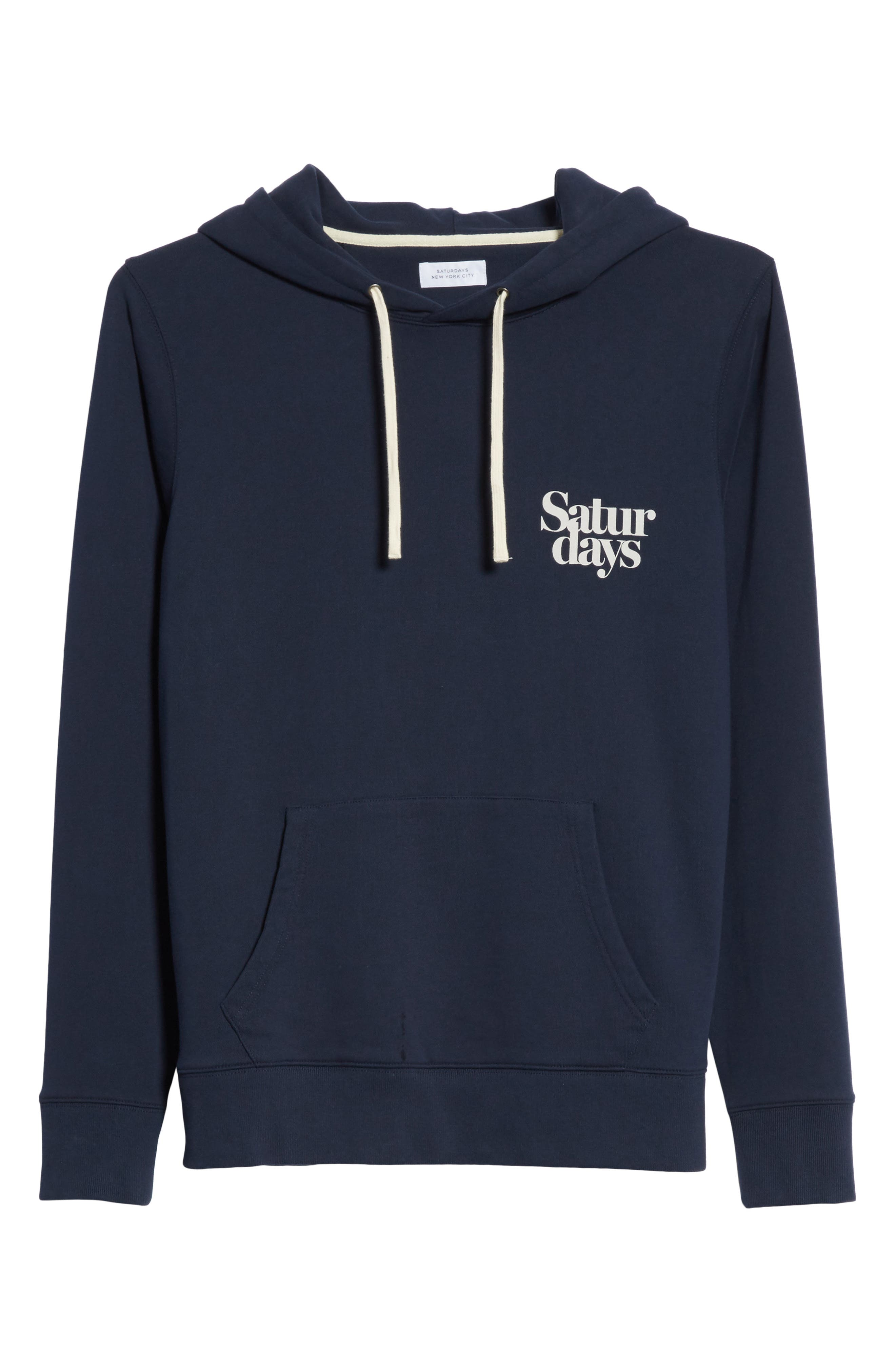 Ditch Miller Hoodie,                             Alternate thumbnail 6, color,                             Midnight
