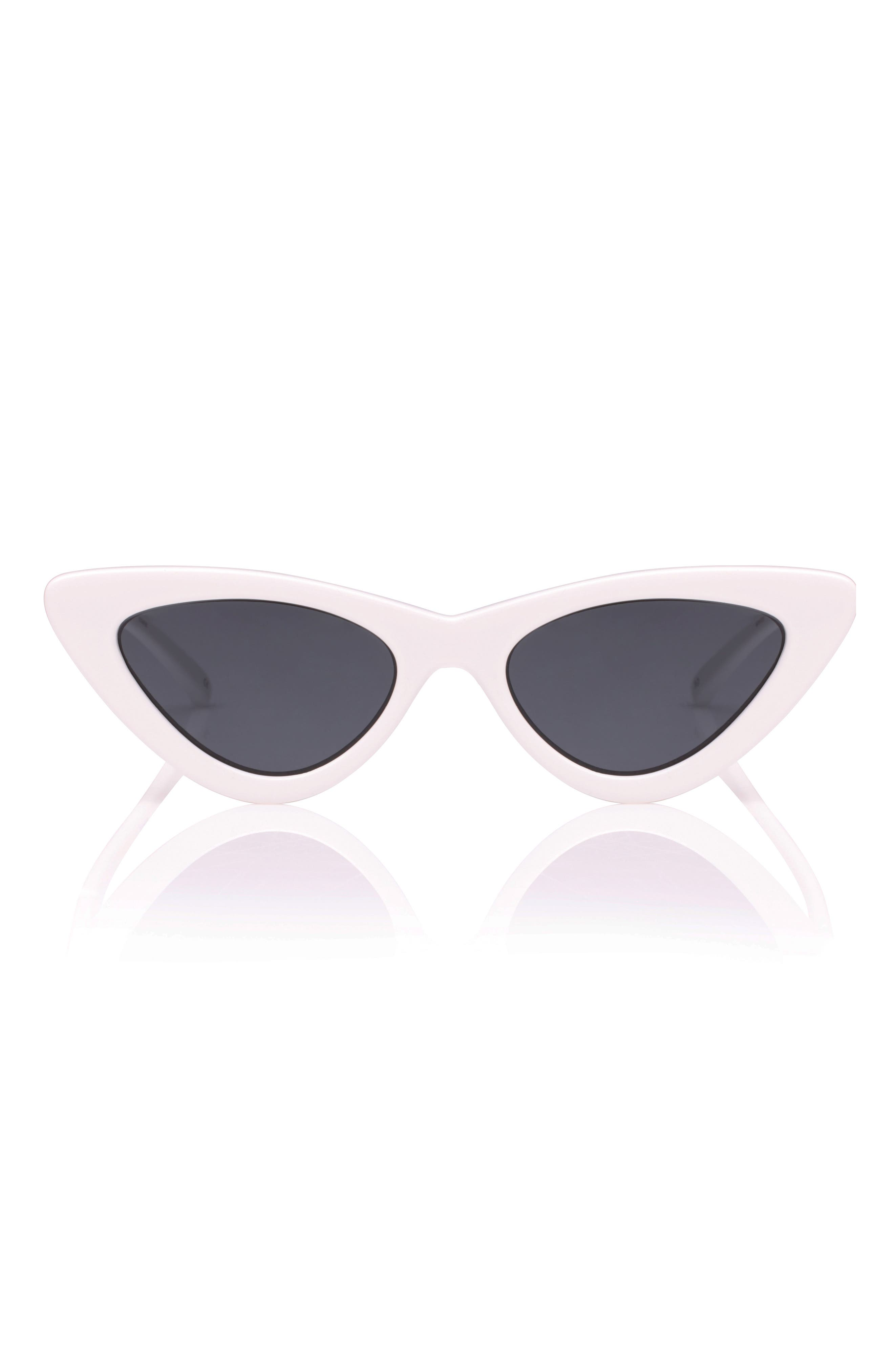 Alternate Image 1 Selected - Le Specs x Adam Selman Last Lolita 49mm Cat Eye Sunglasses