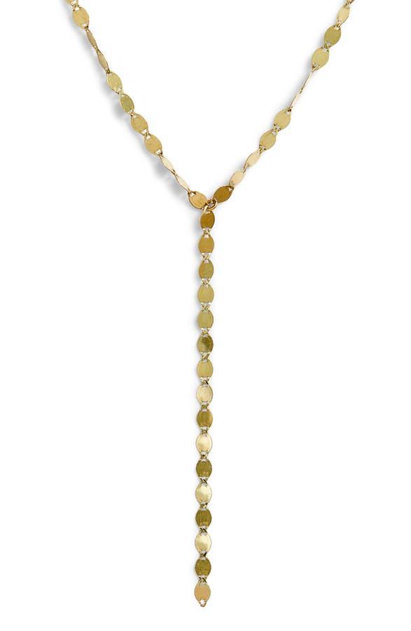 Lana Girl by Lana Jewelry Mini Chain Lariat Necklace (Girls ...