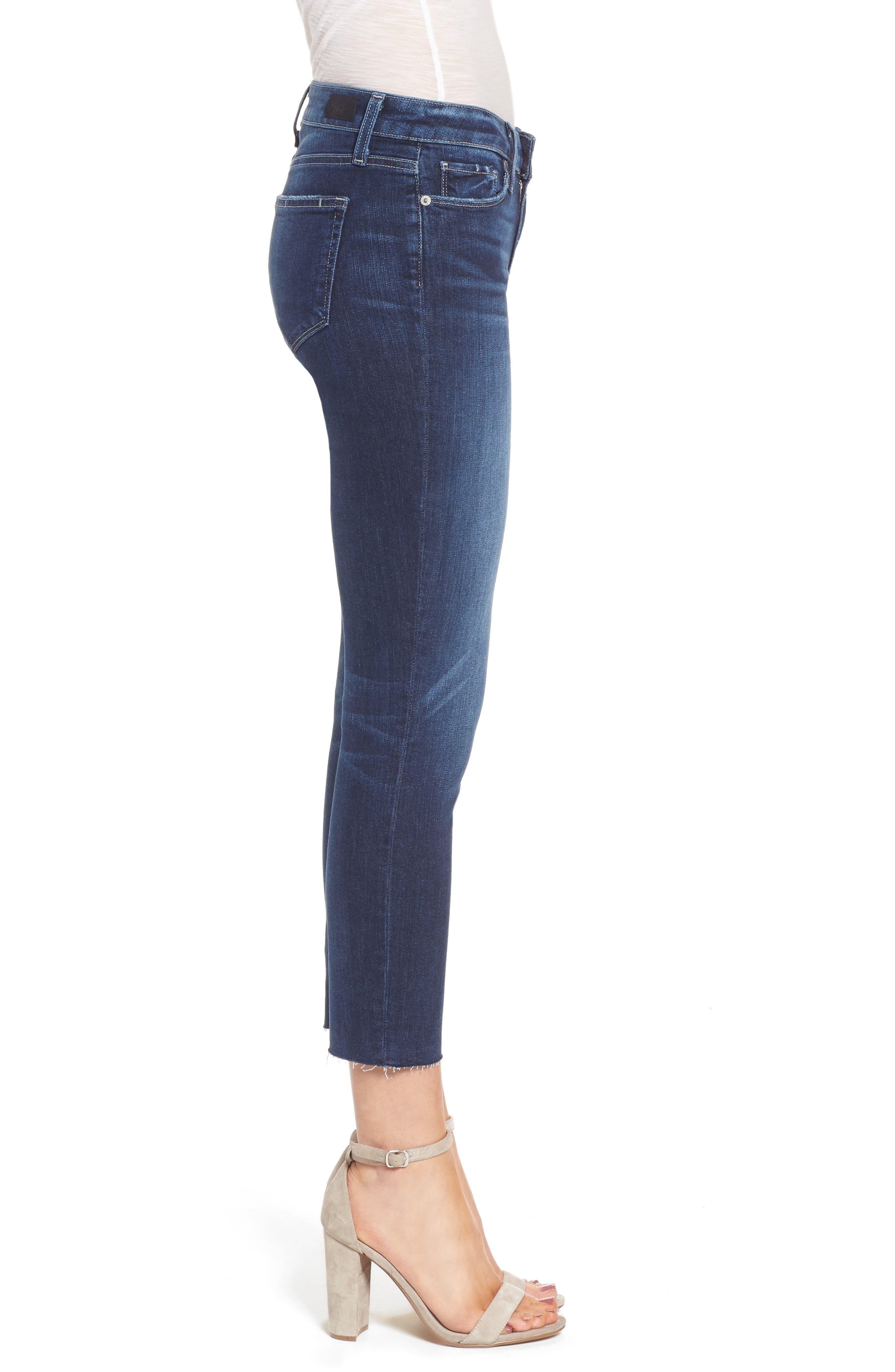Transcend - Skyline Crop Skinny Jeans,                             Alternate thumbnail 3, color,                             Kylen