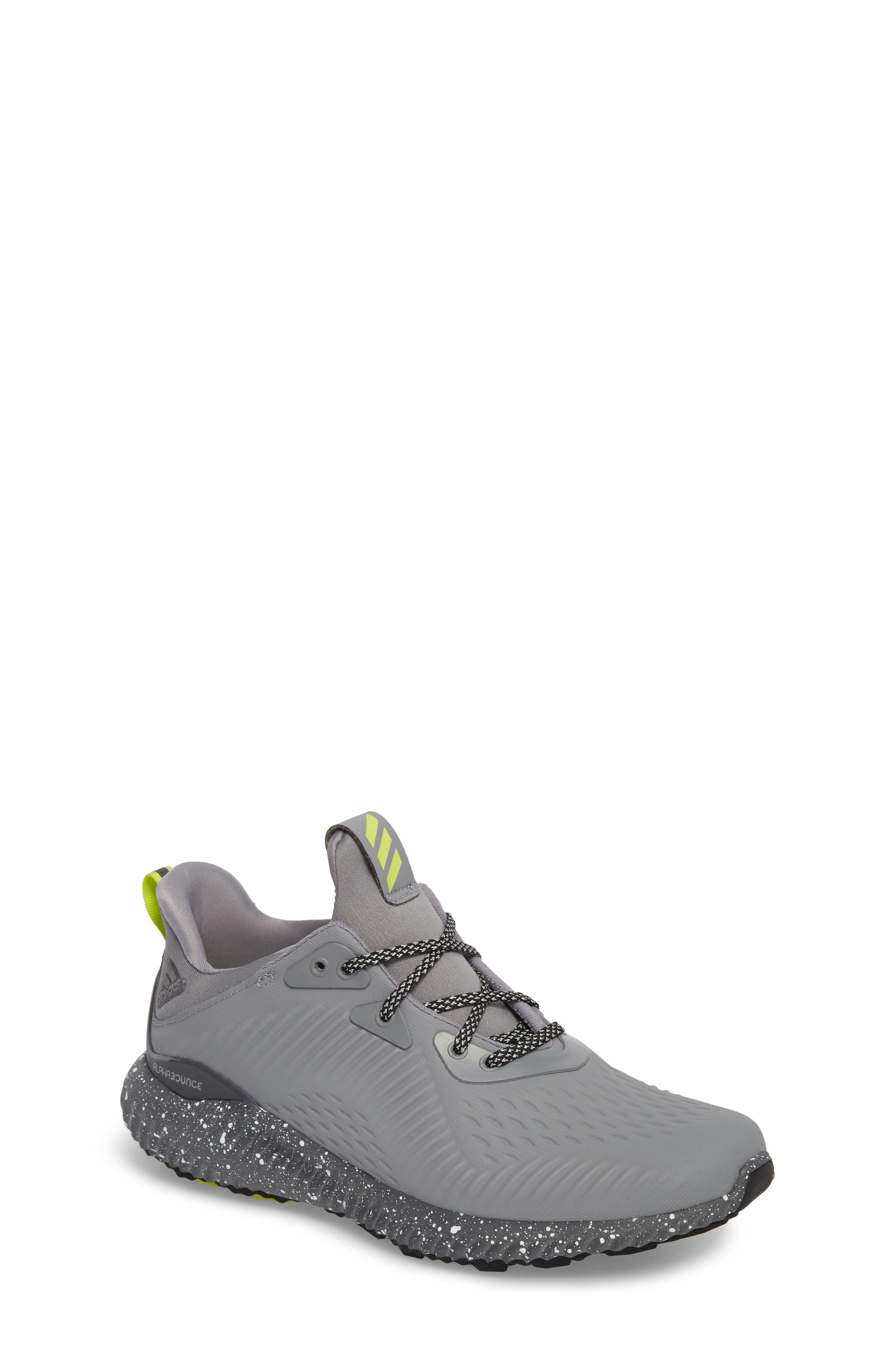 adidas AlphaBounce EM Running Shoe (Big Kid)