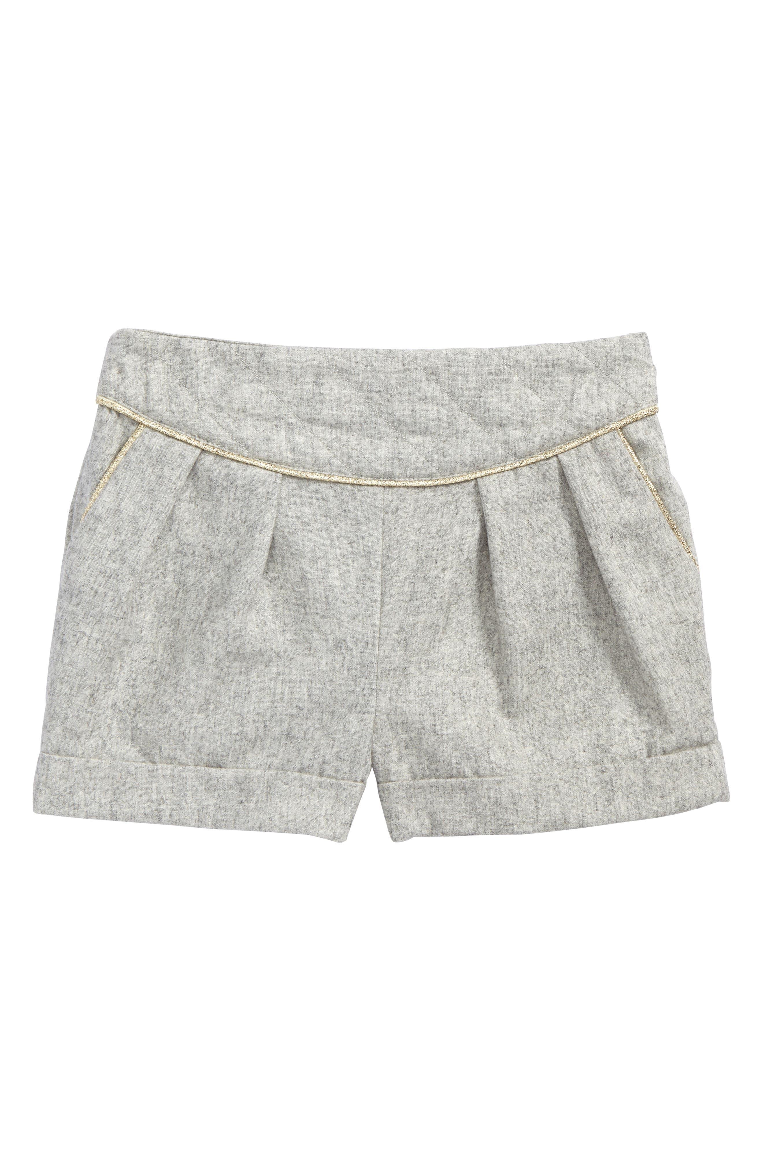 Diamond Shorts,                             Main thumbnail 1, color,                             Pale Grey