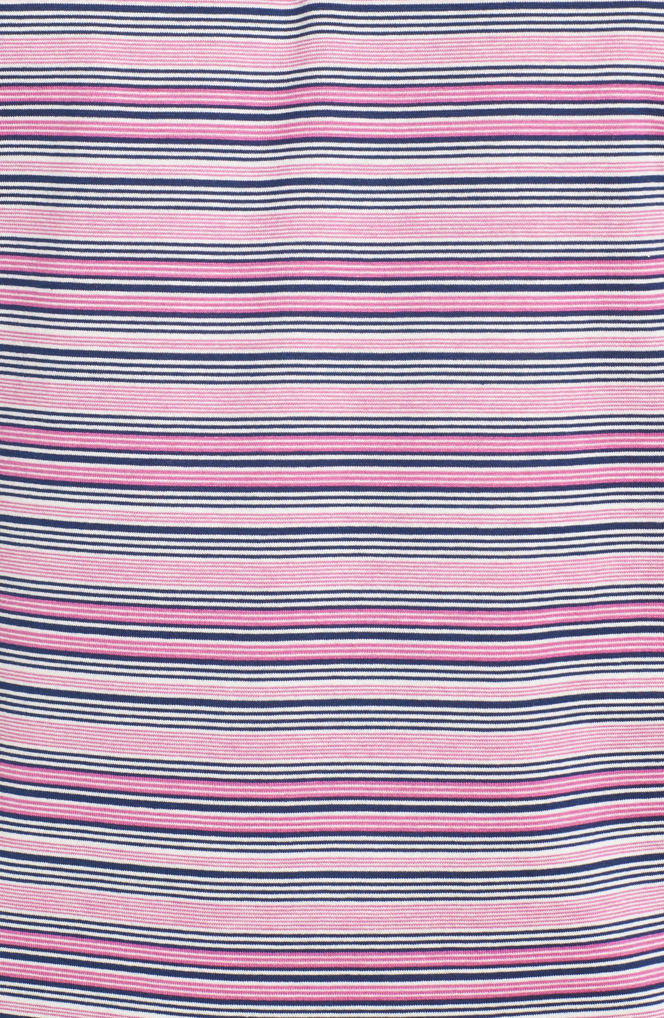 Sean Hanover Stripe Polo,                             Alternate thumbnail 5, color,                             Barrier Blue