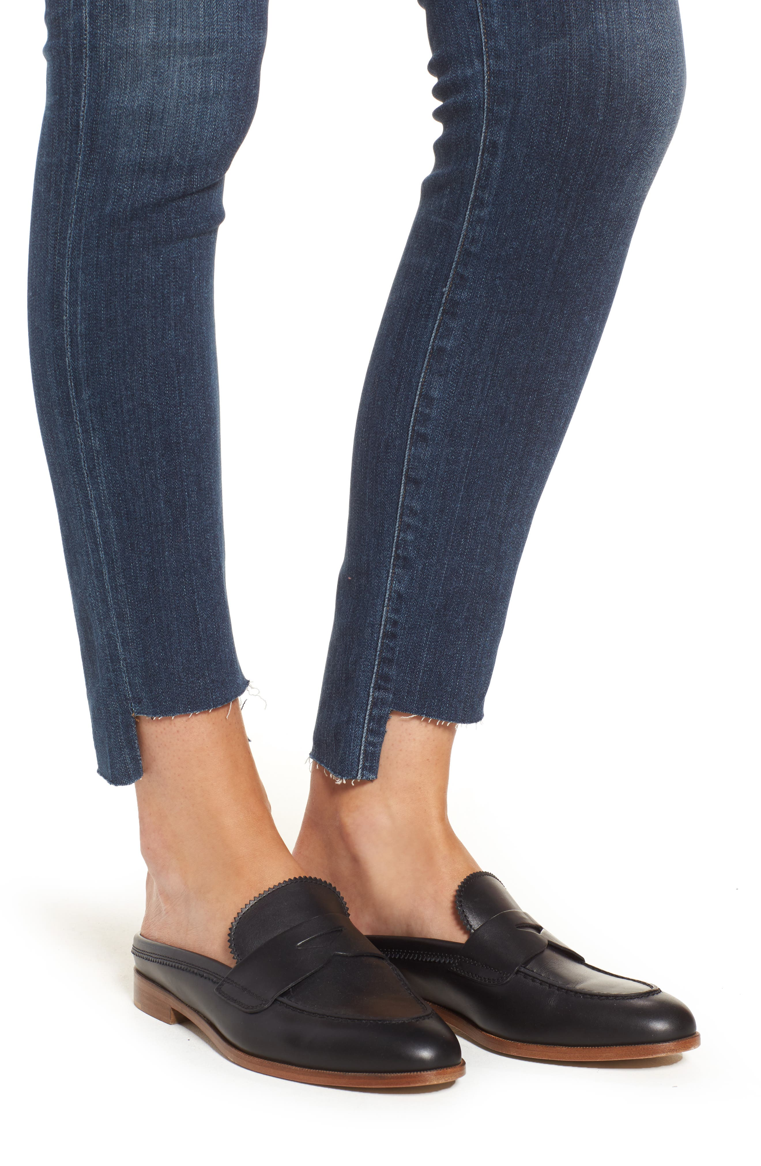Alternate Image 4  - Citizens of Humanity Rocket Step Hem Skinny Jeans (Palmilla)