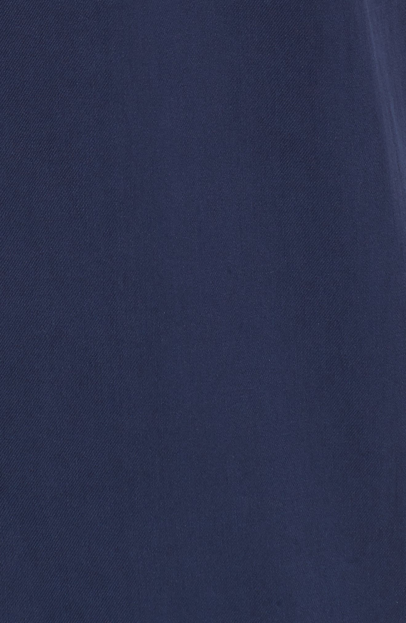 Catalina Silk Camp Shirt,                             Alternate thumbnail 5, color,                             Navy
