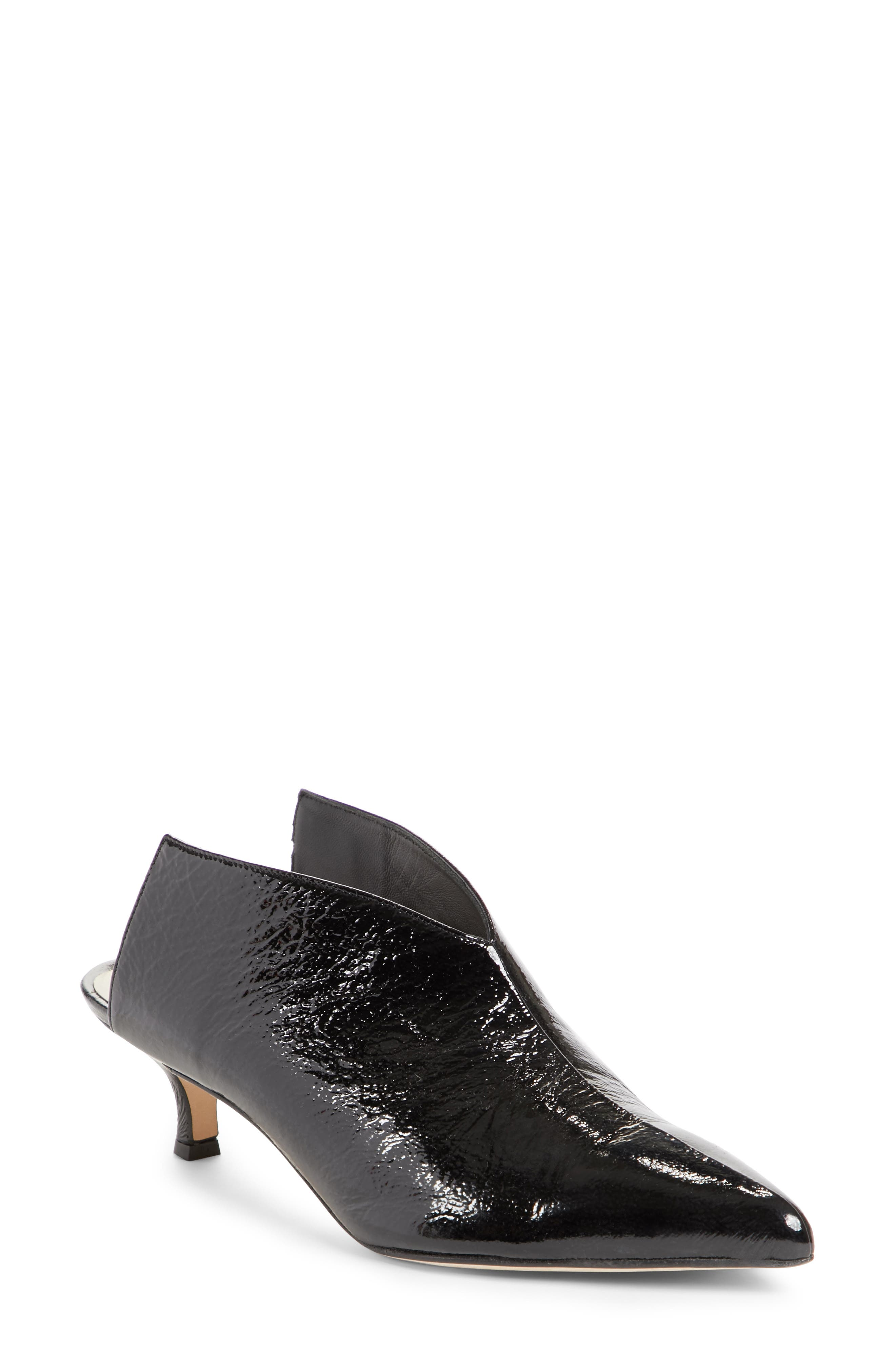 Jase Pointy Toe Mule,                         Main,                         color, Black
