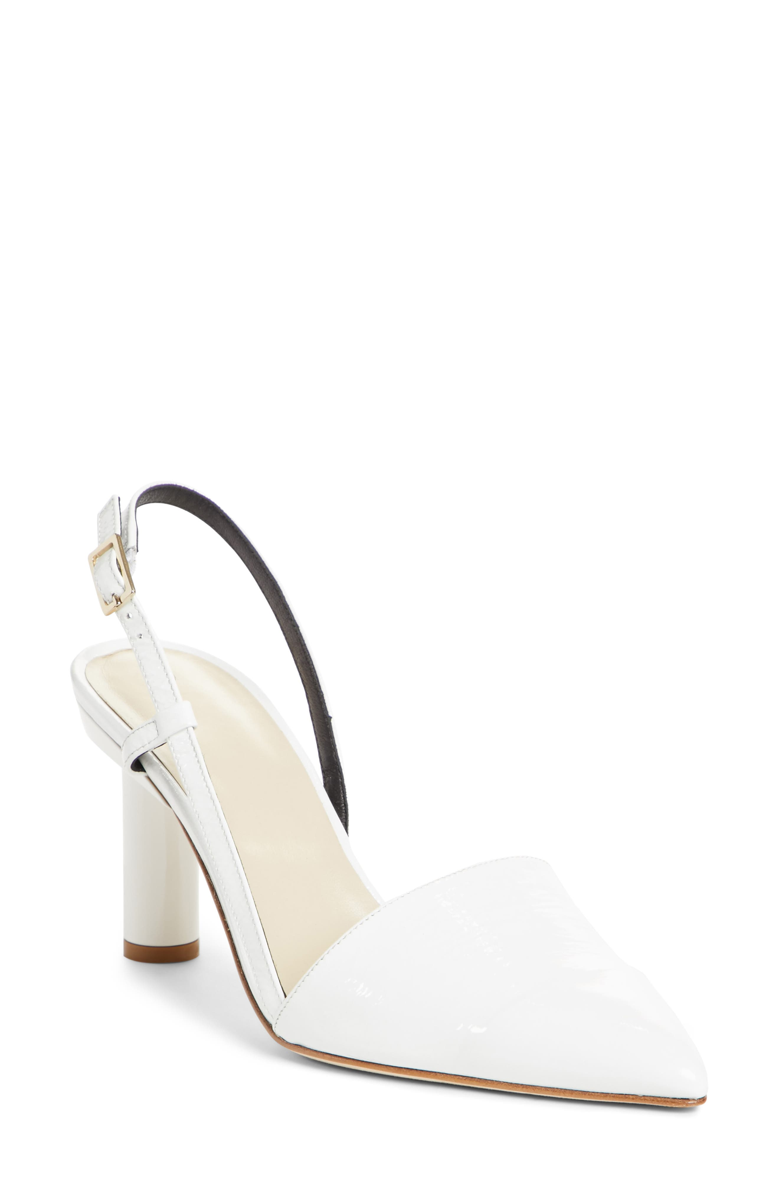 Tibi Sean Slingback Pointy Toe Pump (Women)