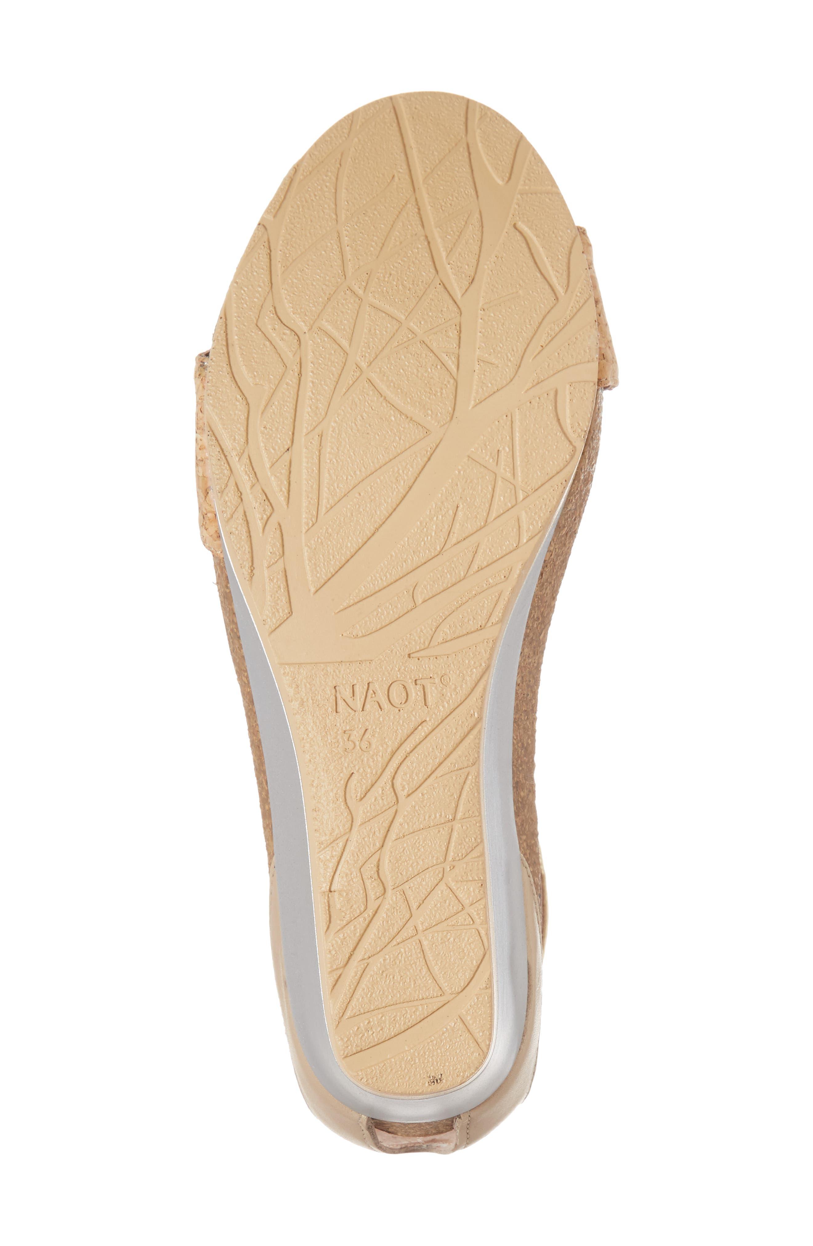 'Pixie' Sandal,                             Alternate thumbnail 6, color,                             Cork Leather