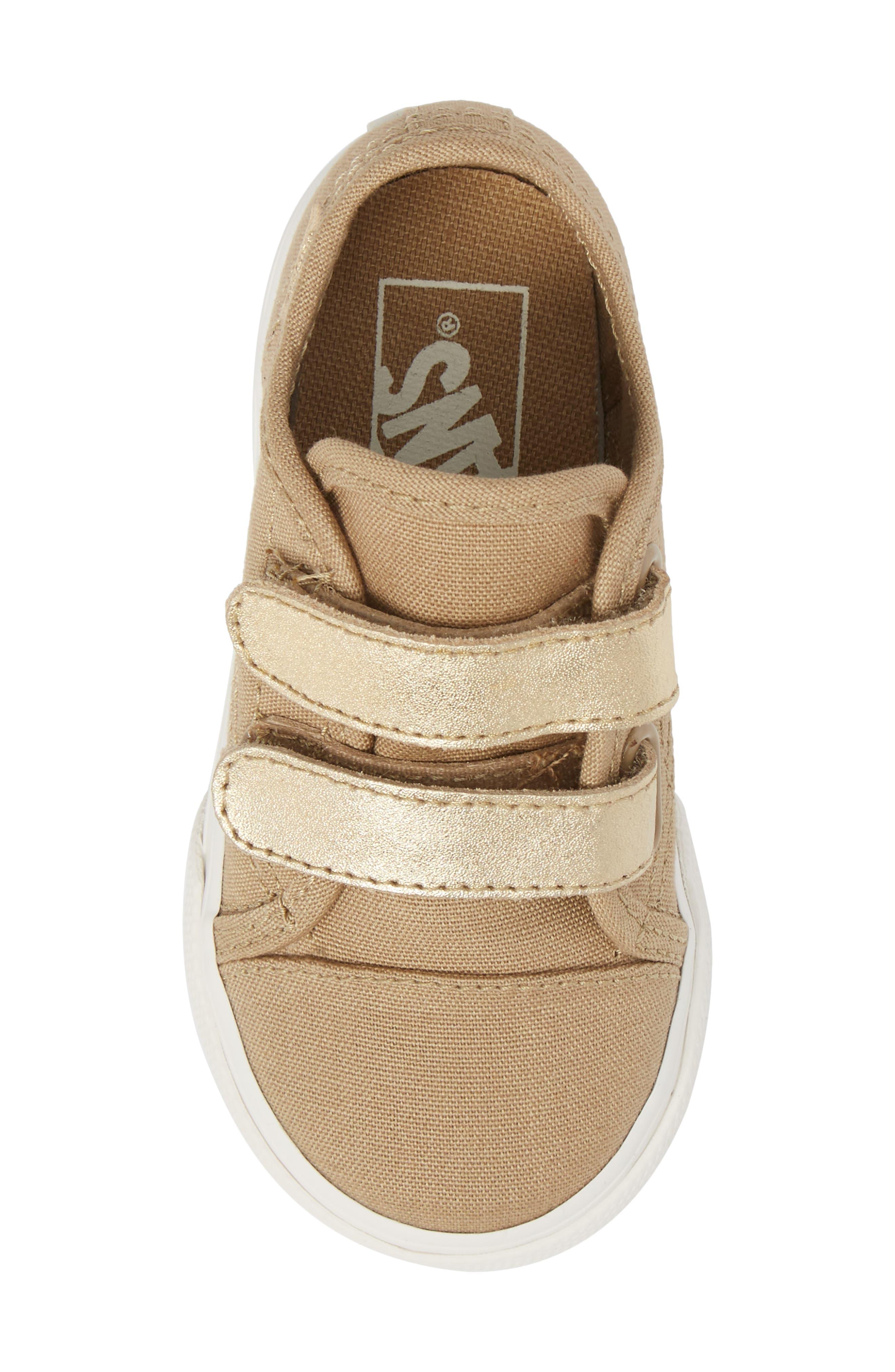 Style 23 V Sneaker,                             Alternate thumbnail 5, color,                             Metallic/ Cornstalk