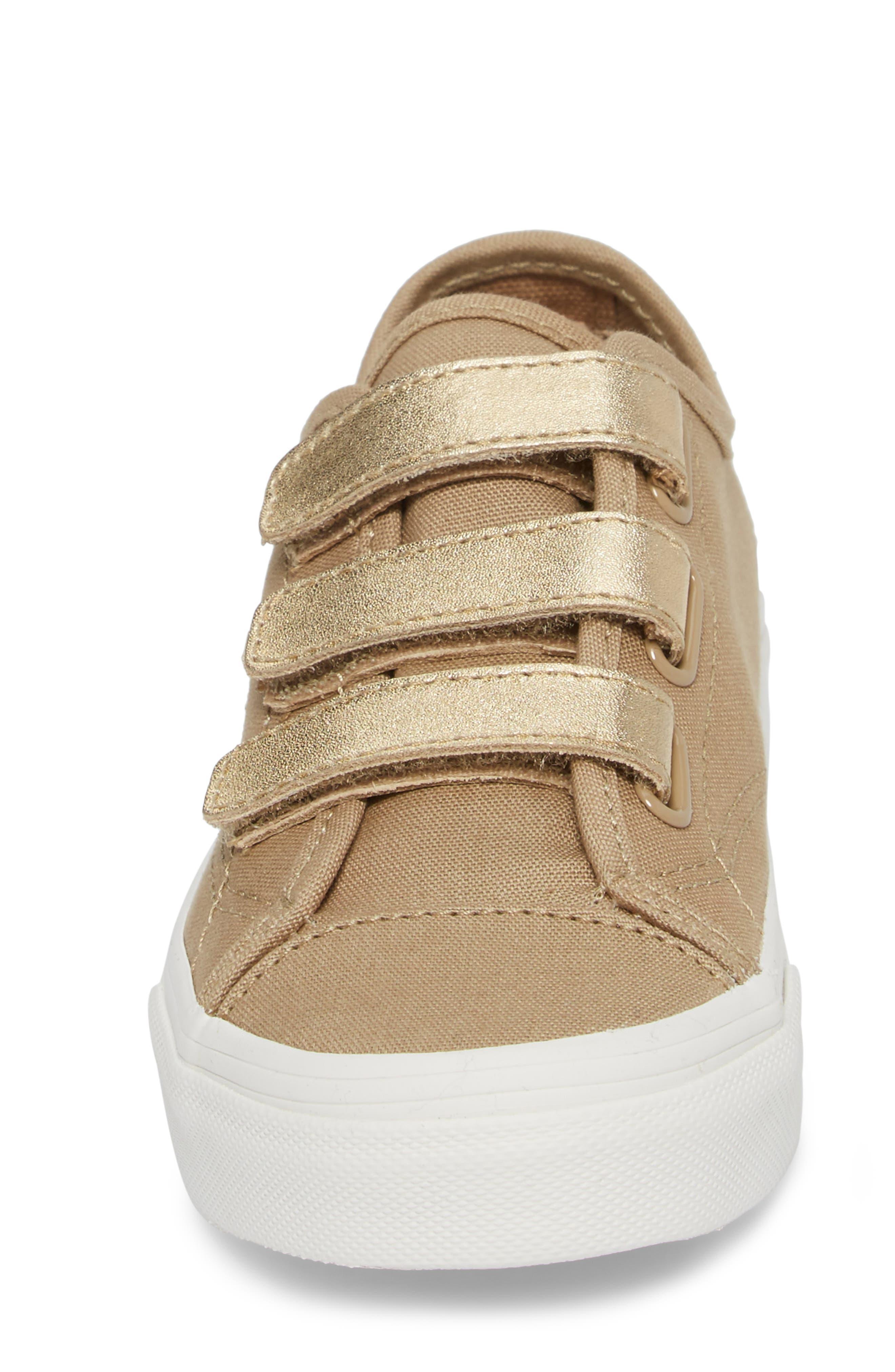Style 23V Sneaker,                             Alternate thumbnail 4, color,                             Metallic/ Cornstalk