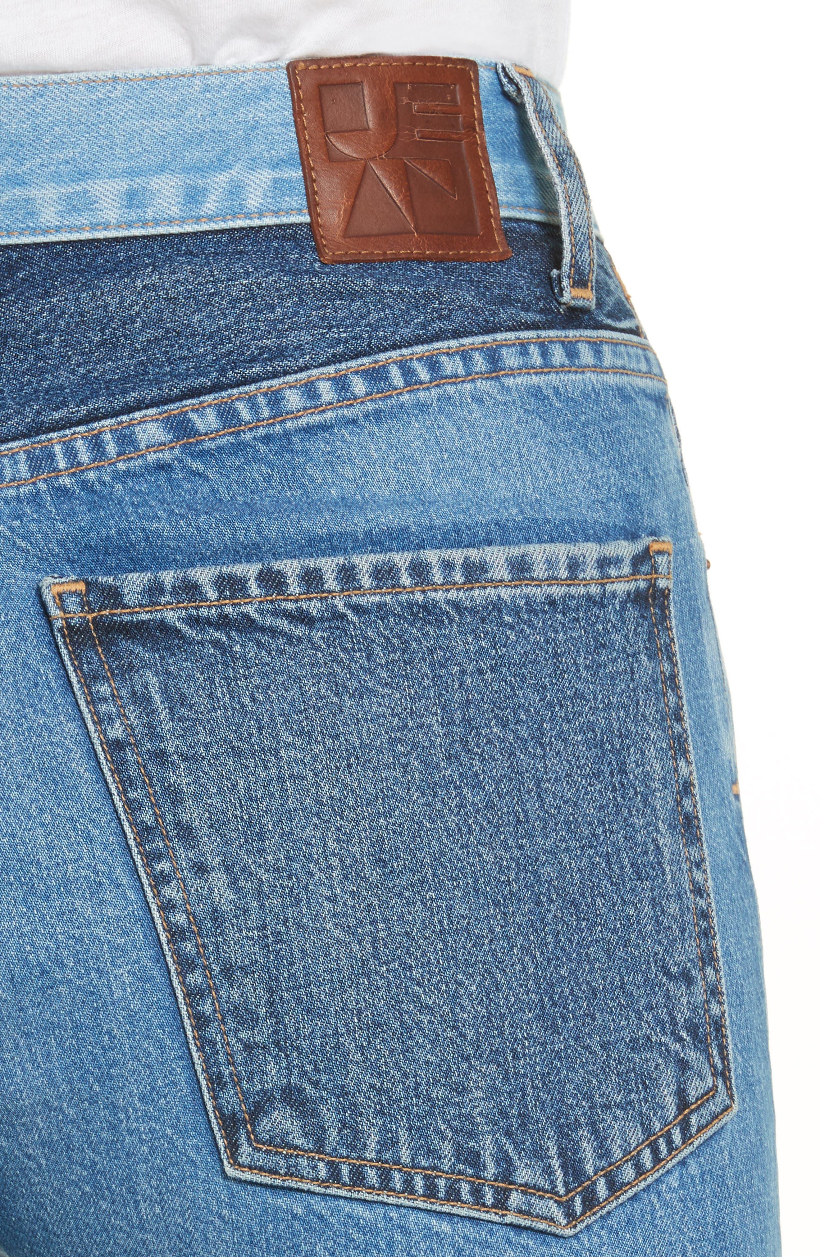 Alternate Image 5  - Jean Atelier Janis High Rise Flare Jeans (Jagger)
