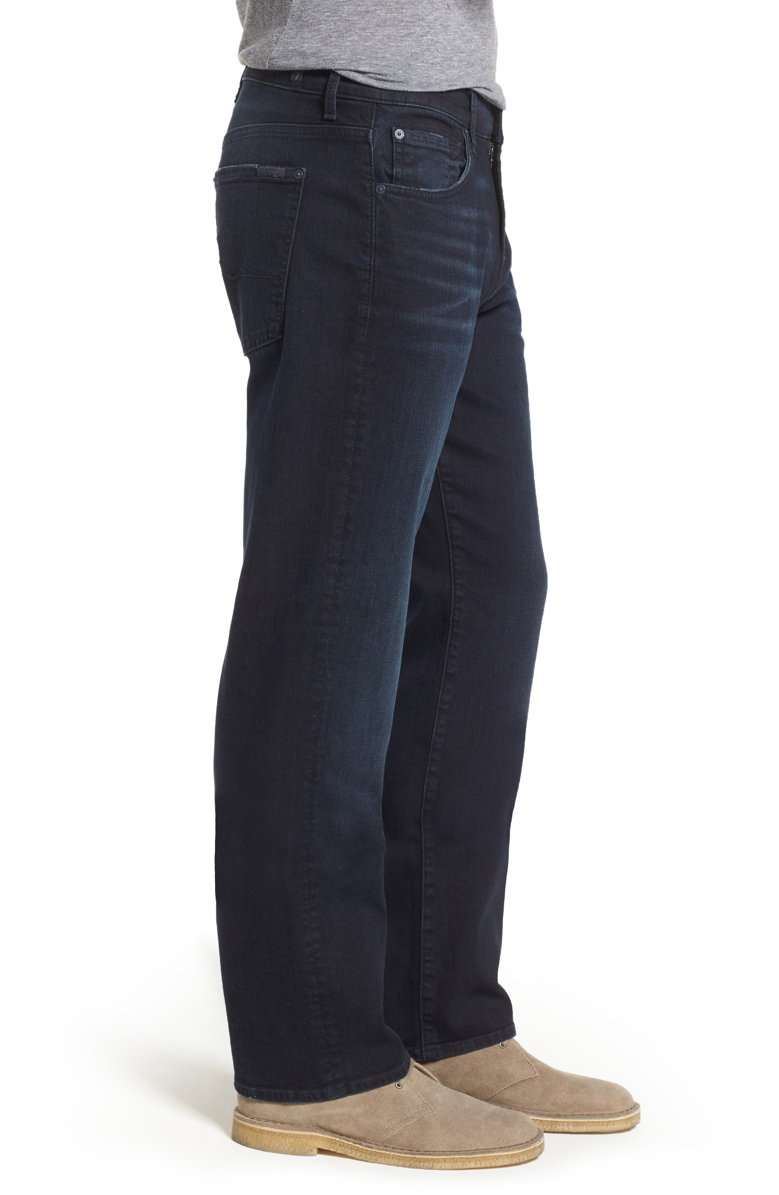 'Austyn- LuxePerformance' Relaxed Fit Jeans,                             Alternate thumbnail 3, color,                             Havoc