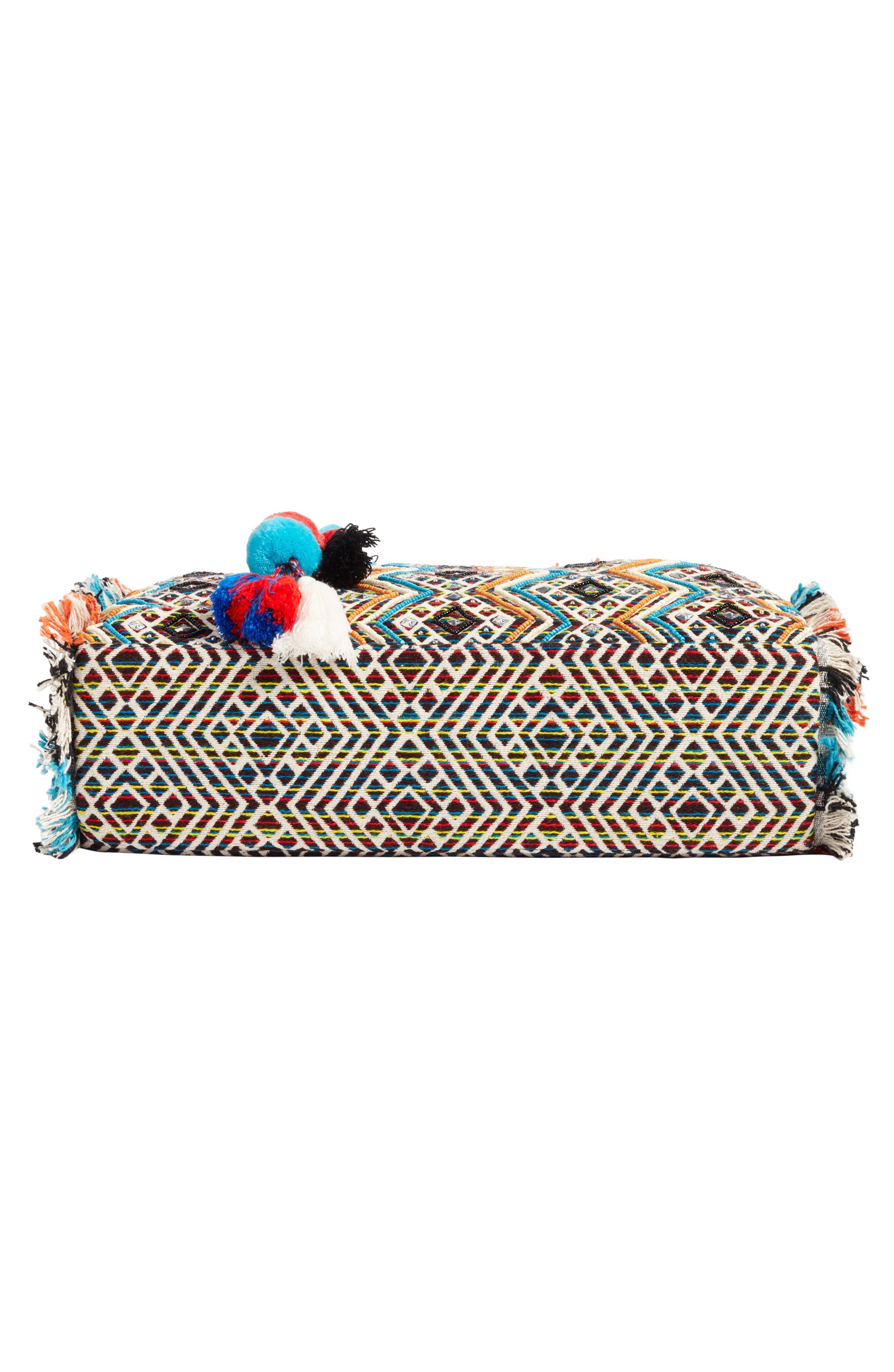 Alternate Image 4  - Steve Madden Resort Embroidered Tote