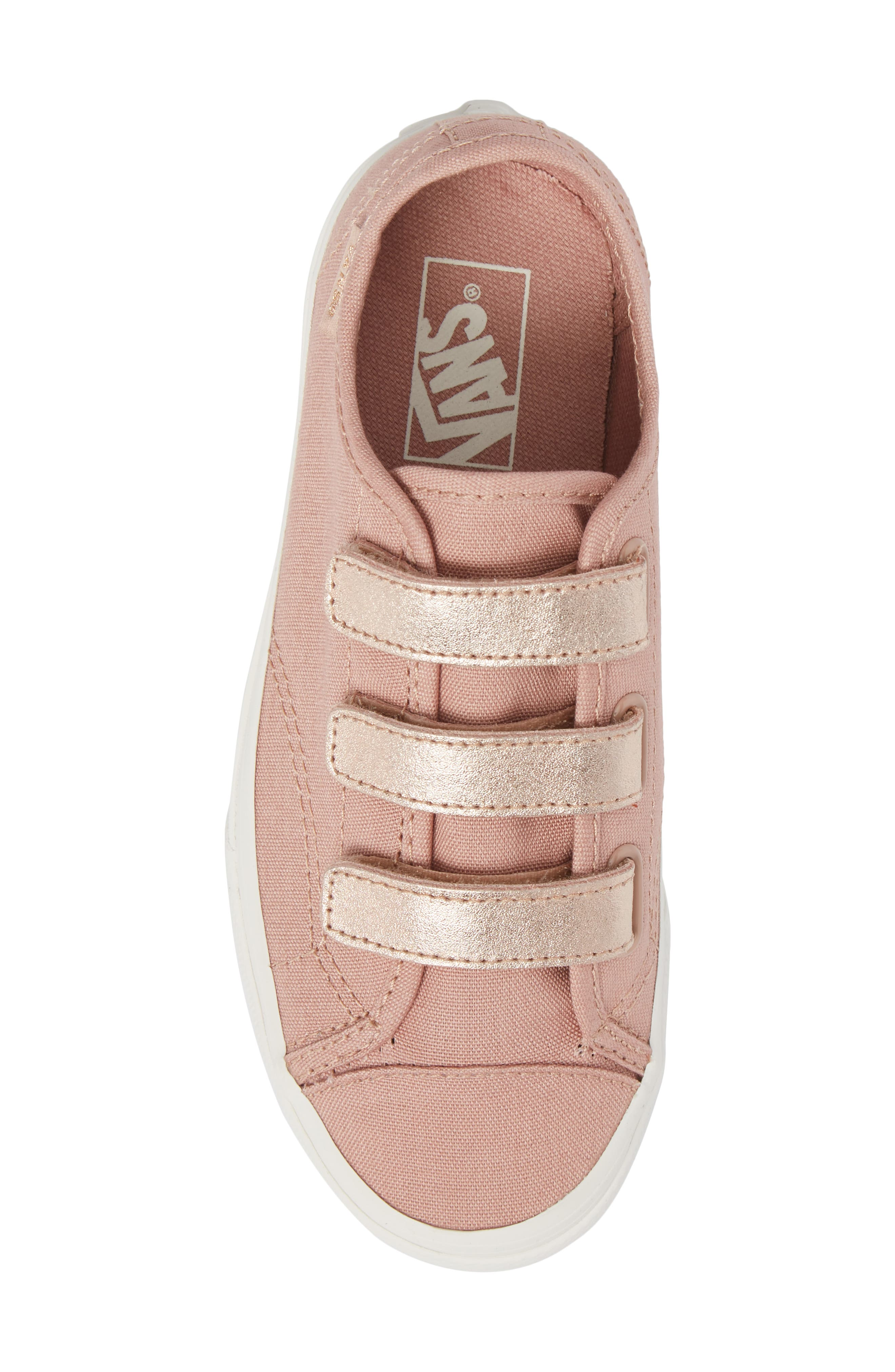 Style 23V Sneaker,                             Alternate thumbnail 5, color,                             Two-Tone Rose Gold Metallic