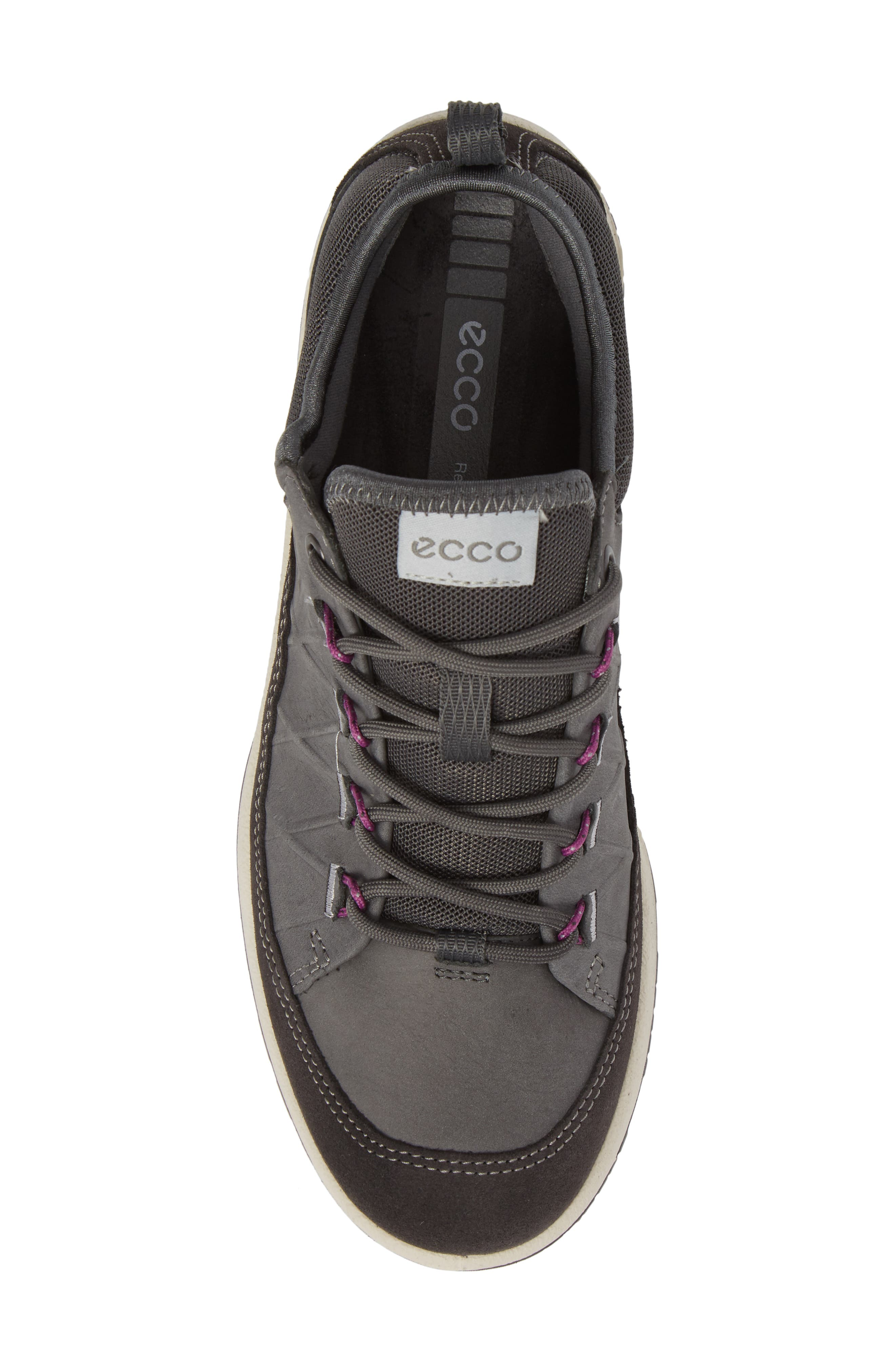'Aspina' Sneaker,                             Alternate thumbnail 5, color,                             Moonless Leather