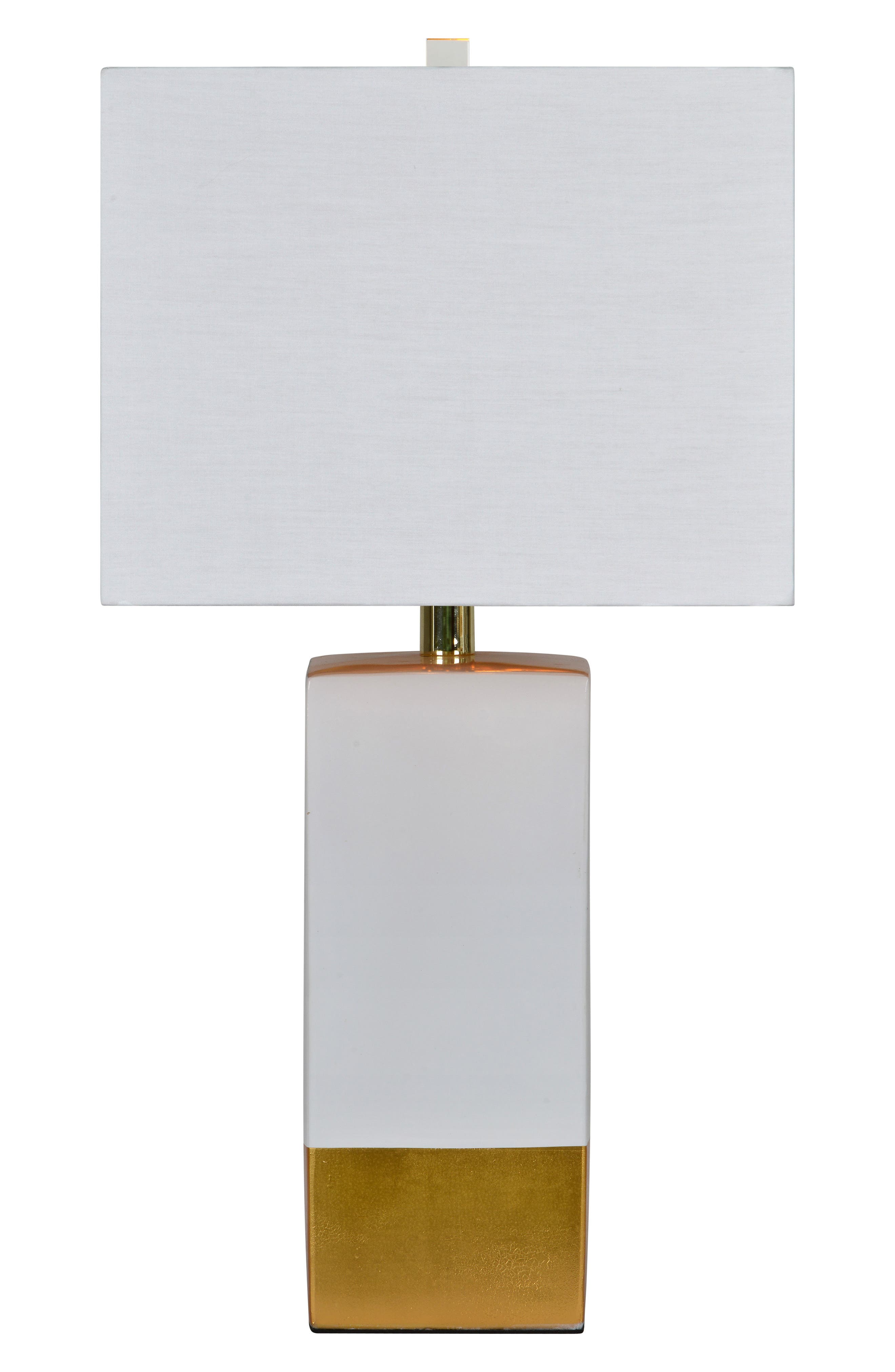 Le Smoking Table Lamp,                         Main,                         color, White/ Gold
