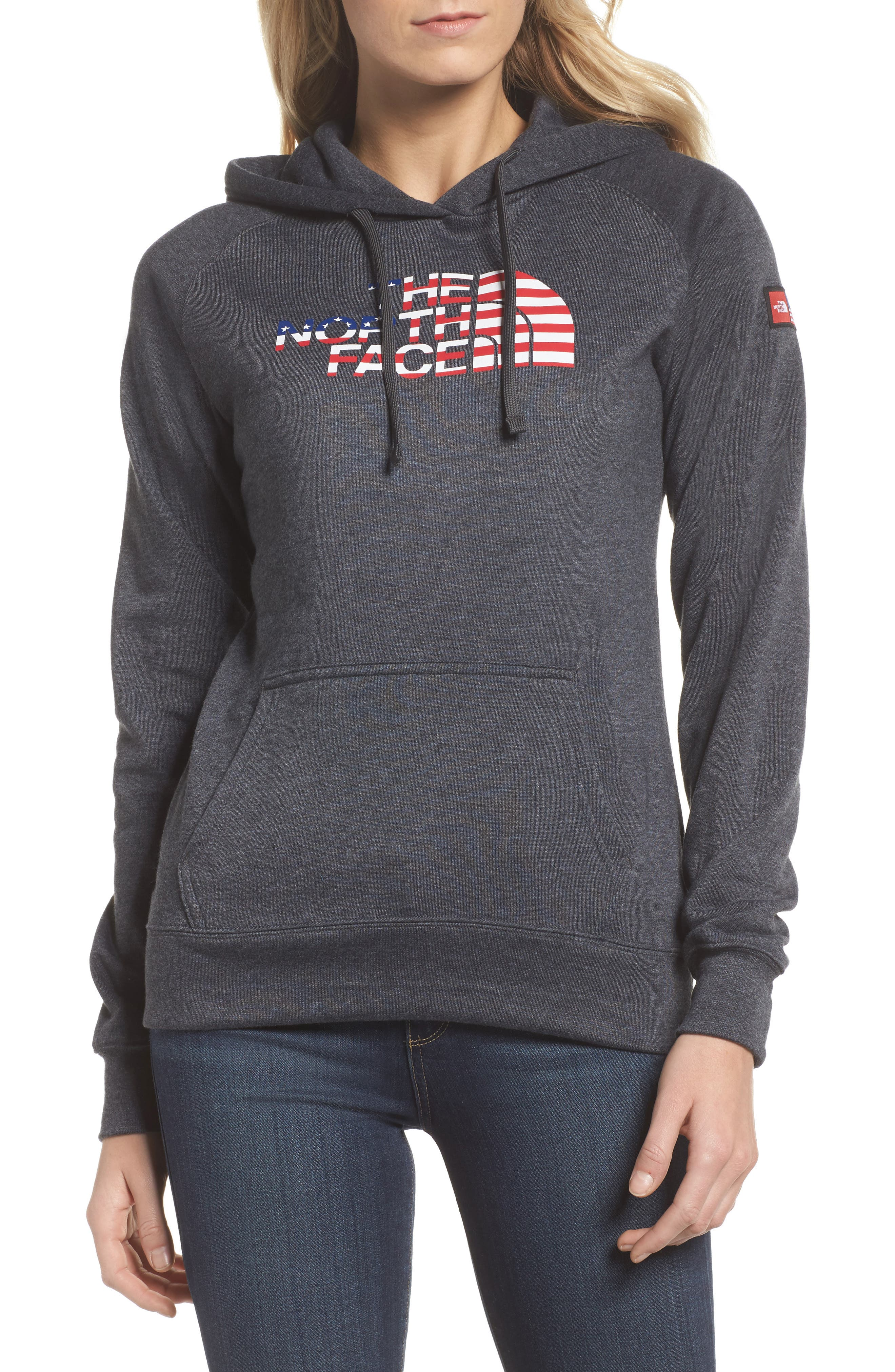 Alternate Image 1 Selected - The North Face International Collection USA Pullover Hoodie