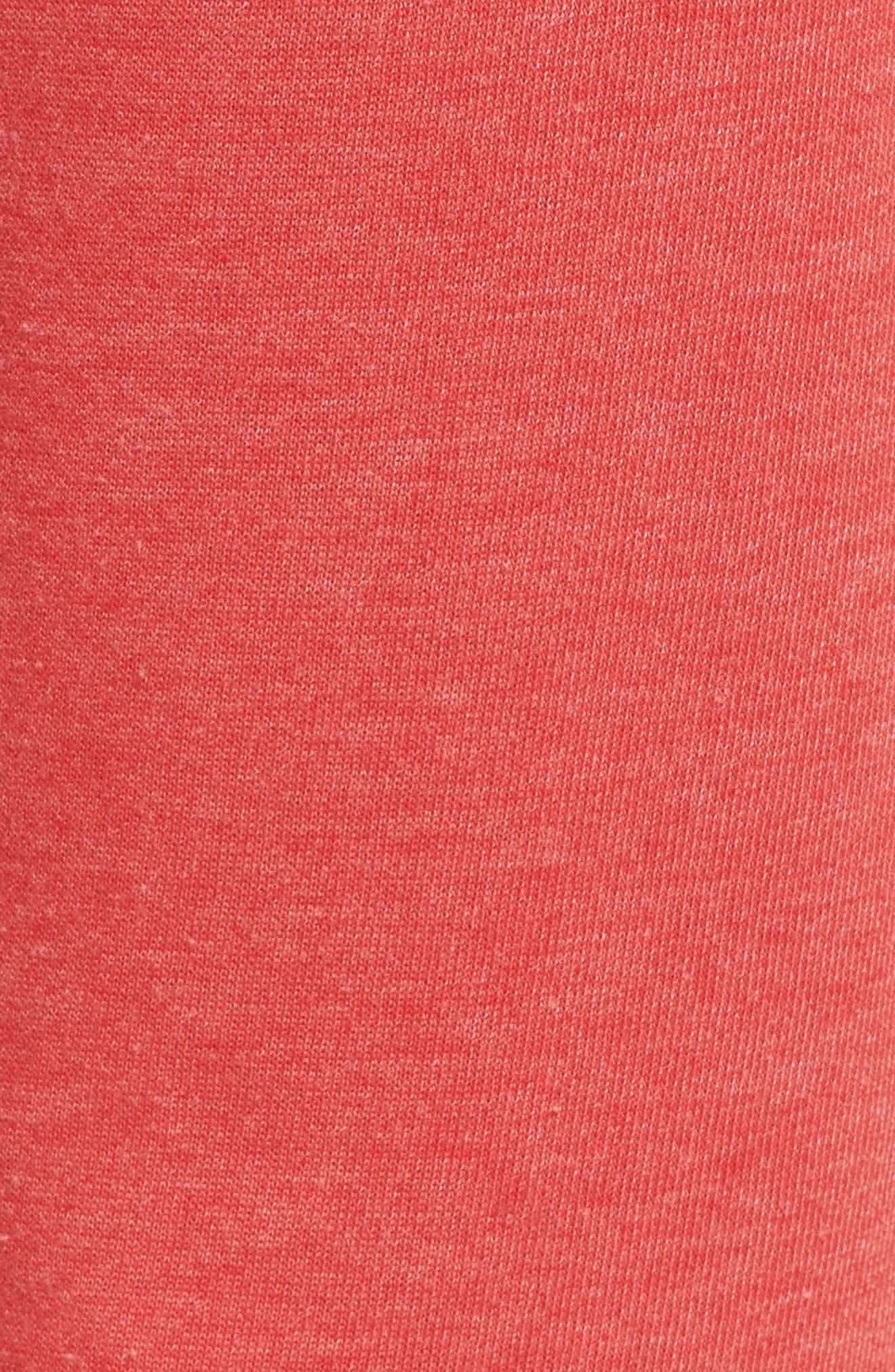 Long Weekend Lounge Jogger Pants,                             Alternate thumbnail 7, color,                             Red Bloom/ Dark Navy/ Blue
