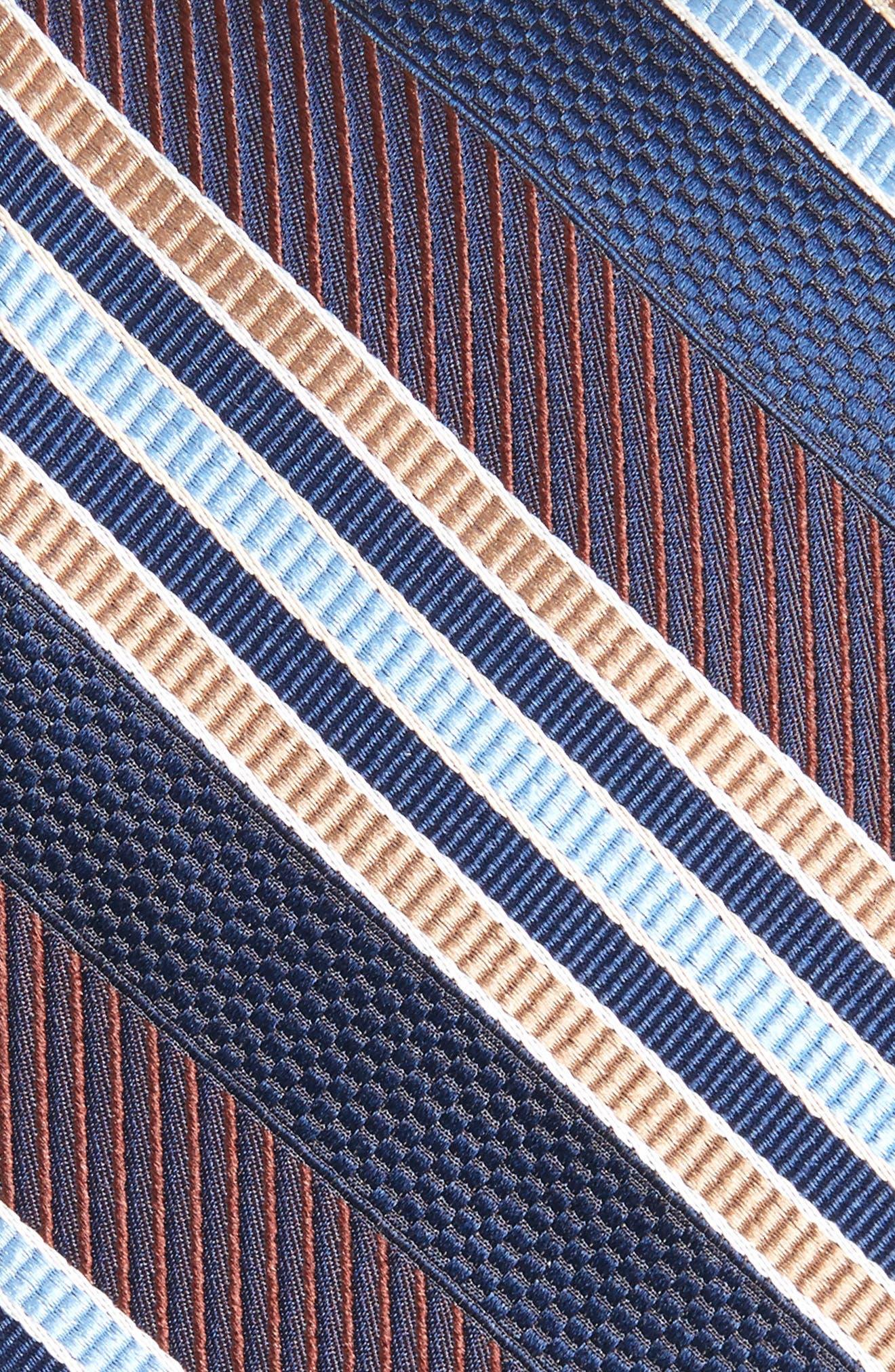 Alternate Image 2  - Nordstrom Men's Shop Northwest Stripe Silk Tie