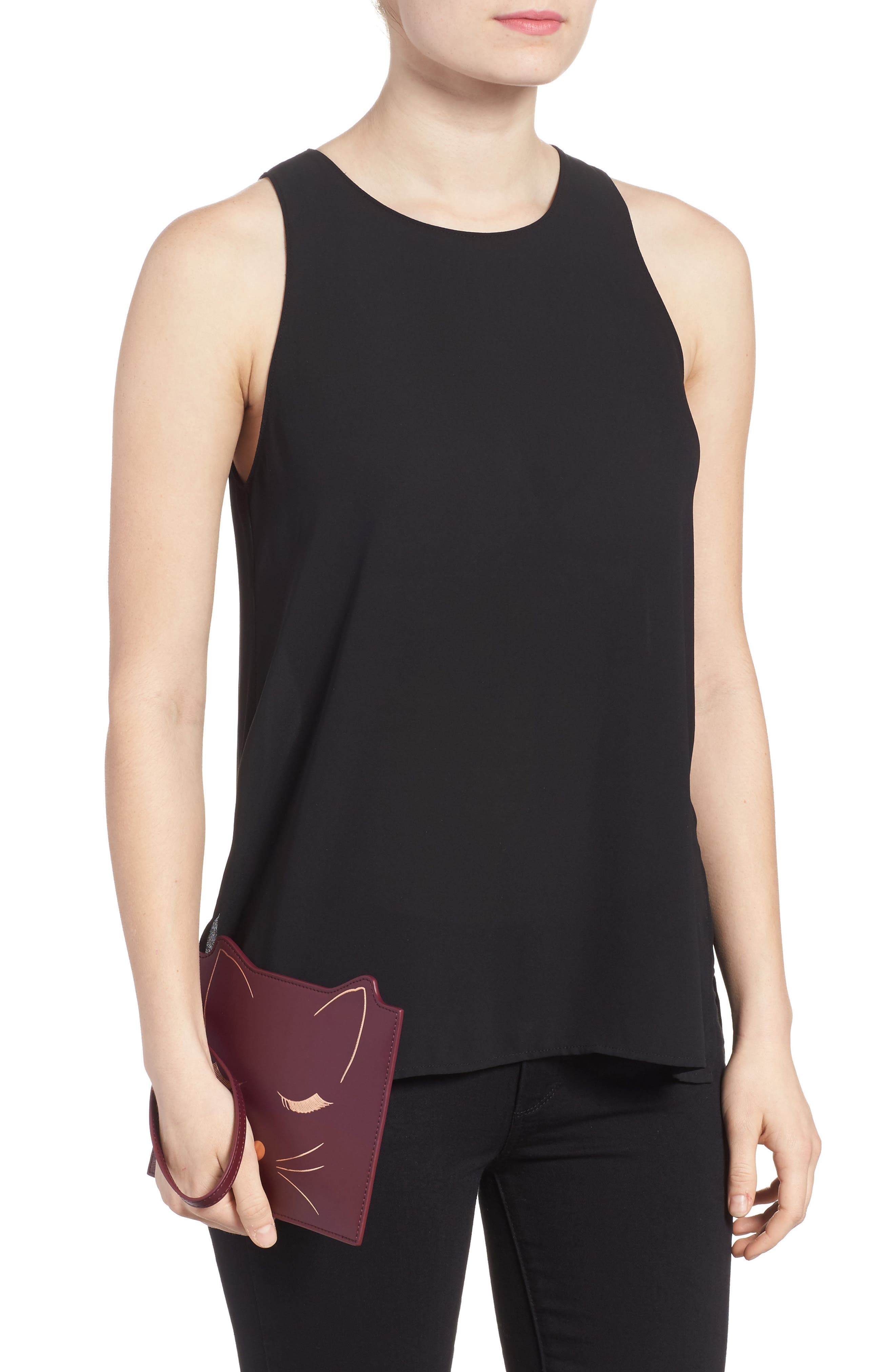 Alternate Image 2  - Ted Baker London Felixea Leather Pouch