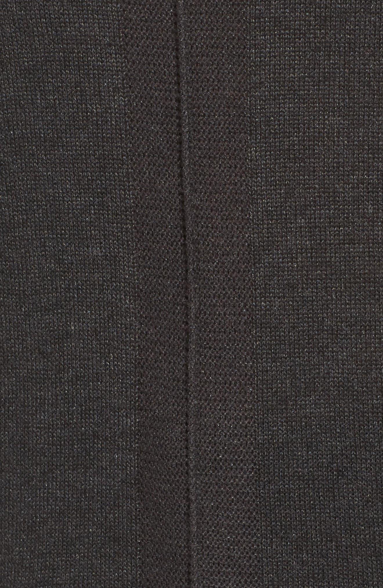 Pocket Tunic Sweater,                             Alternate thumbnail 5, color,                             Grey