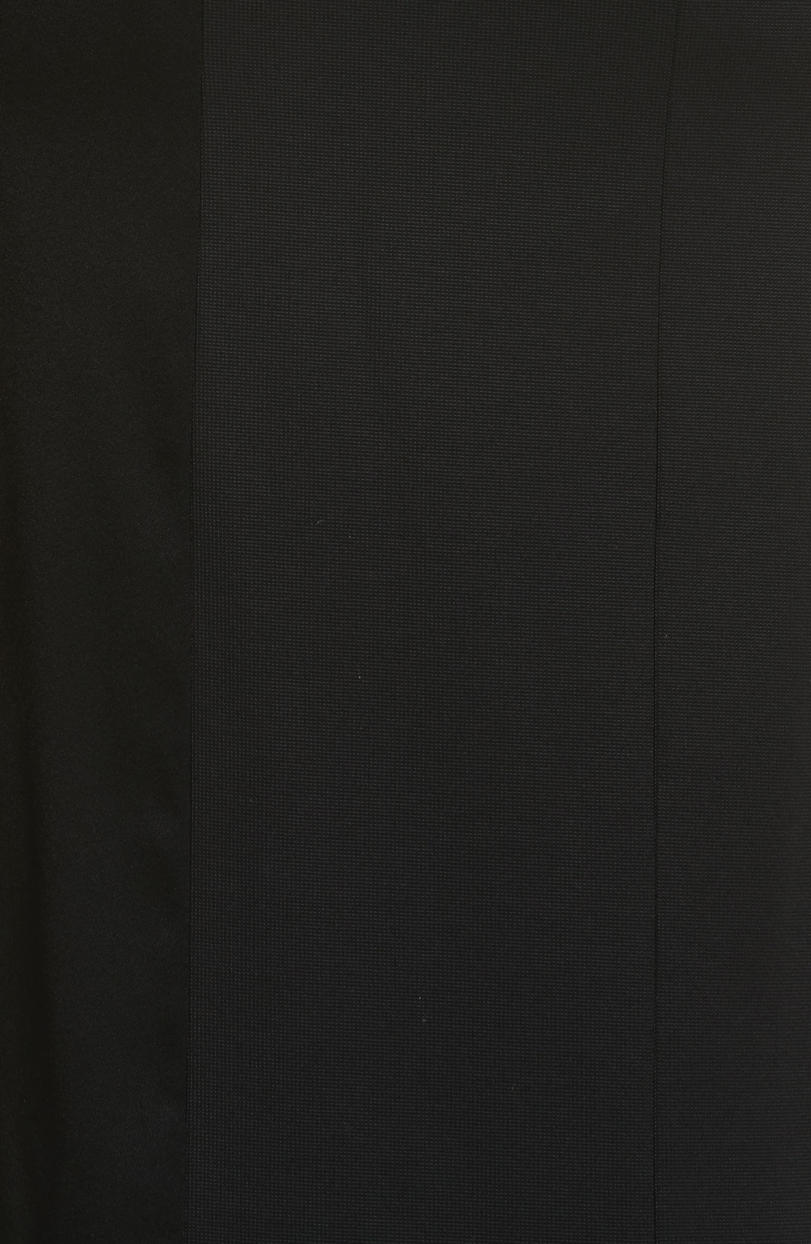 Alternate Image 5  - Galvan One-Shoulder Colorblock Gown