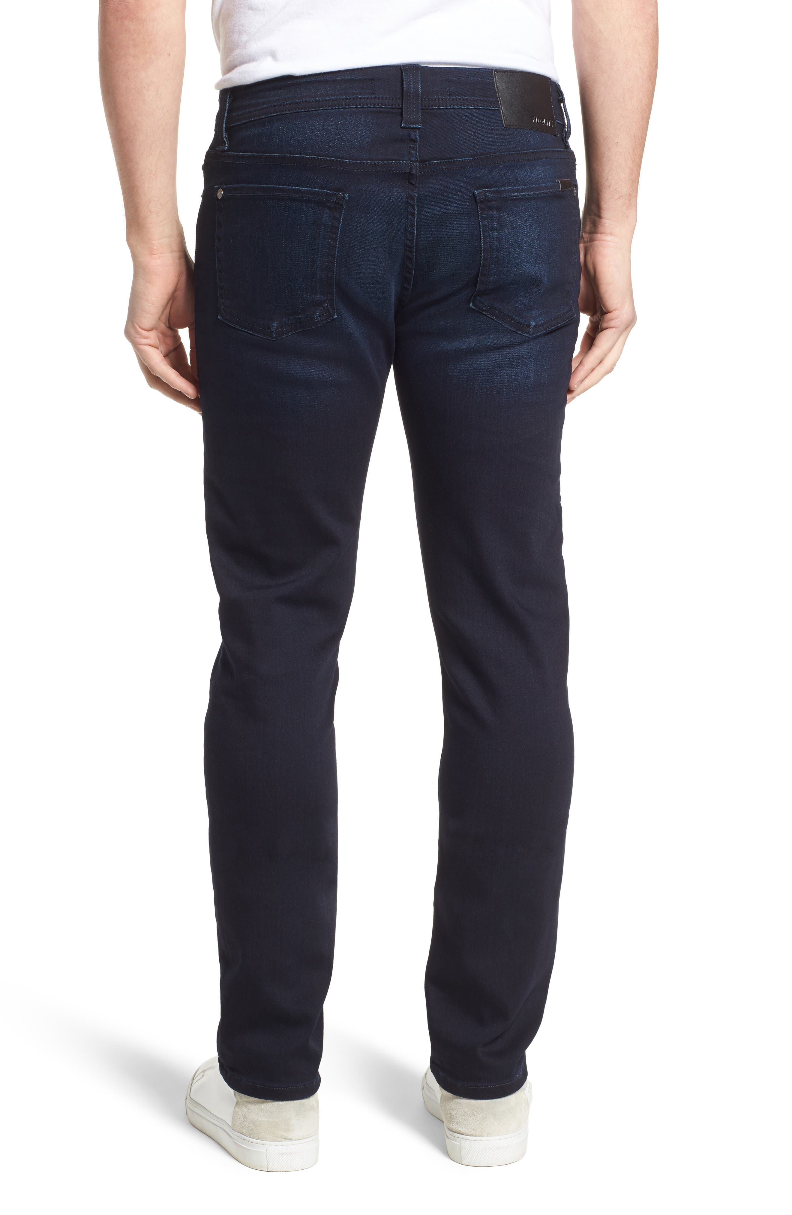 Jimmy Slim Straight Fit Jeans,                             Alternate thumbnail 2, color,                             Barracuda