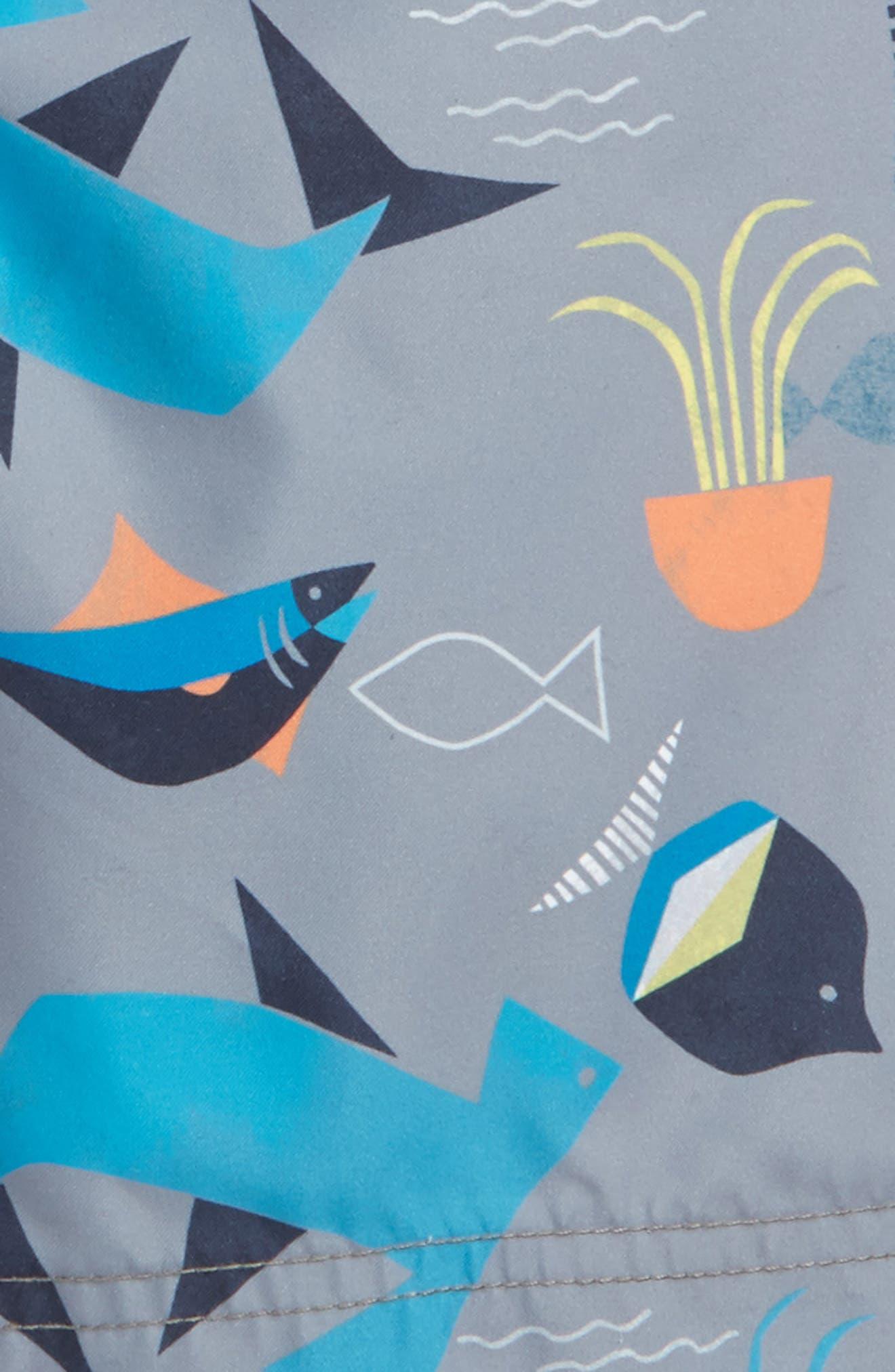 Salt Water Swim Trunks,                             Alternate thumbnail 2, color,                             Raincloud