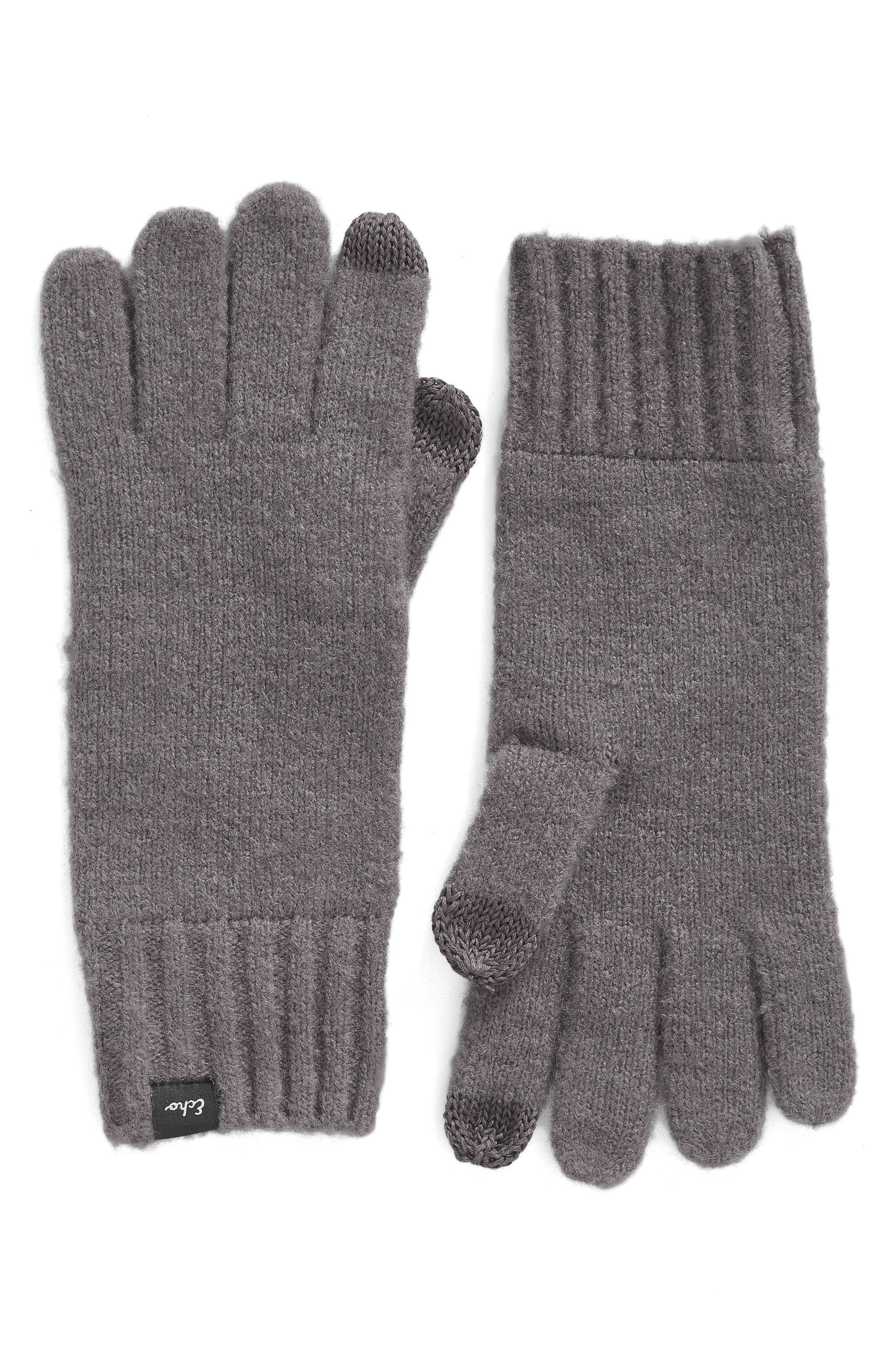 Main Image - Echo 'Touch' Stretch Fleece Tech Gloves