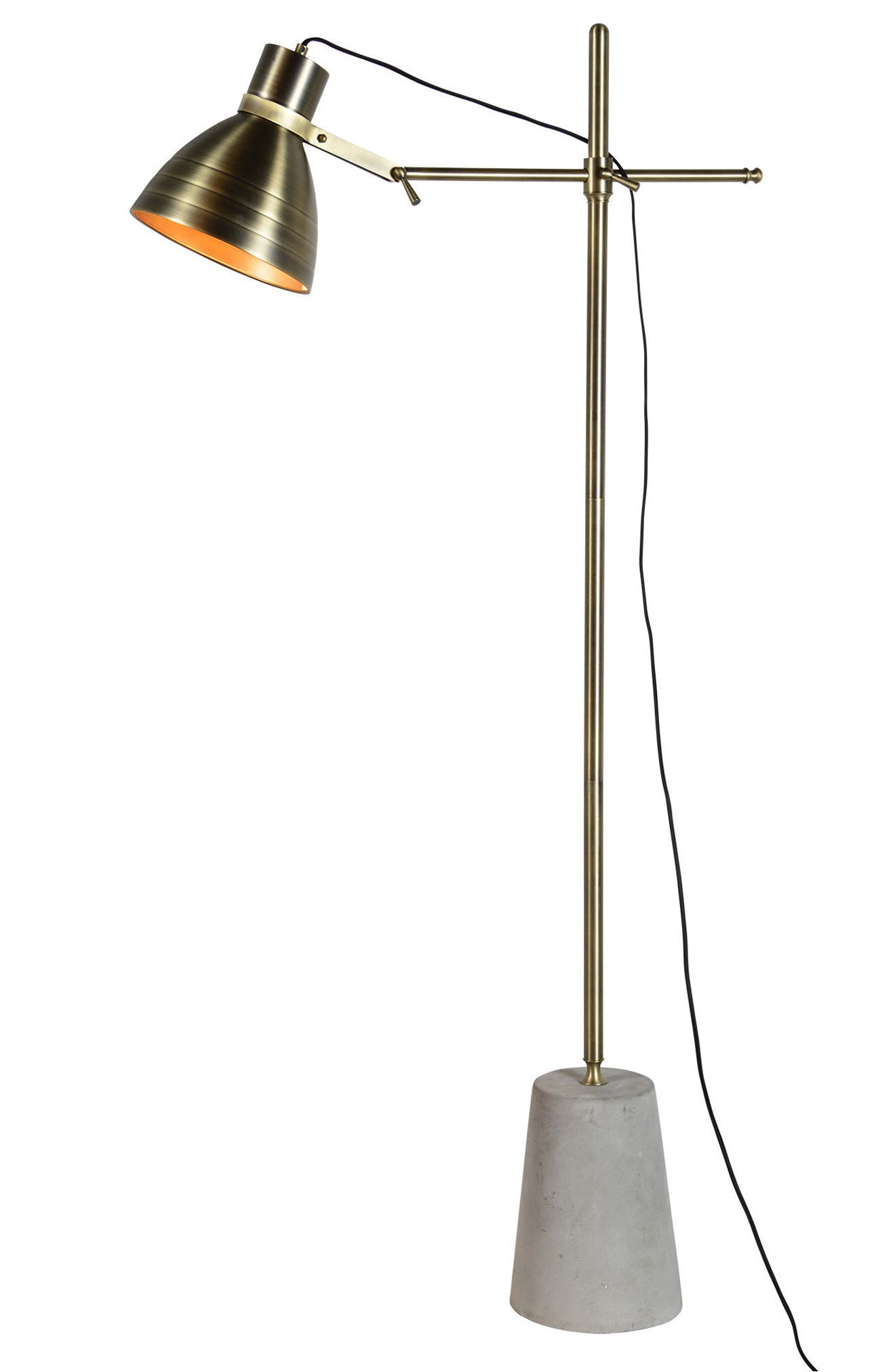 Harrow Floor Lamp,                             Main thumbnail 1, color,                             Cement