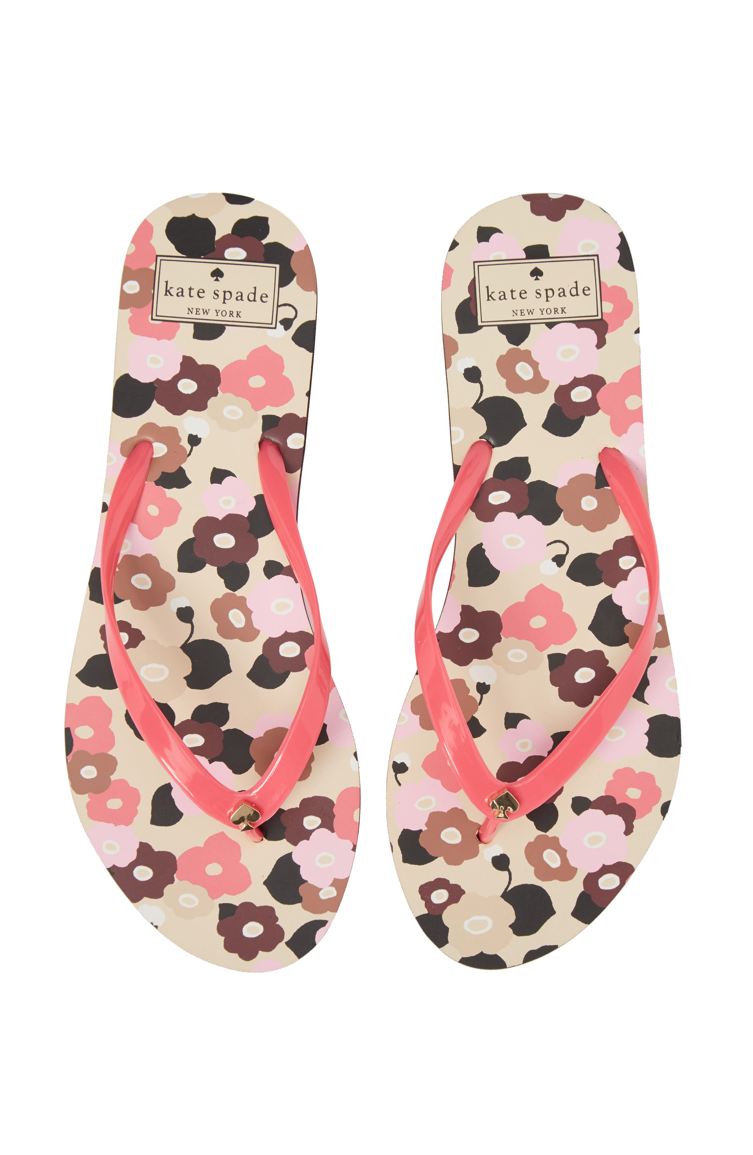 nassau flip flop,                             Alternate thumbnail 5, color,                             Petunia Pink