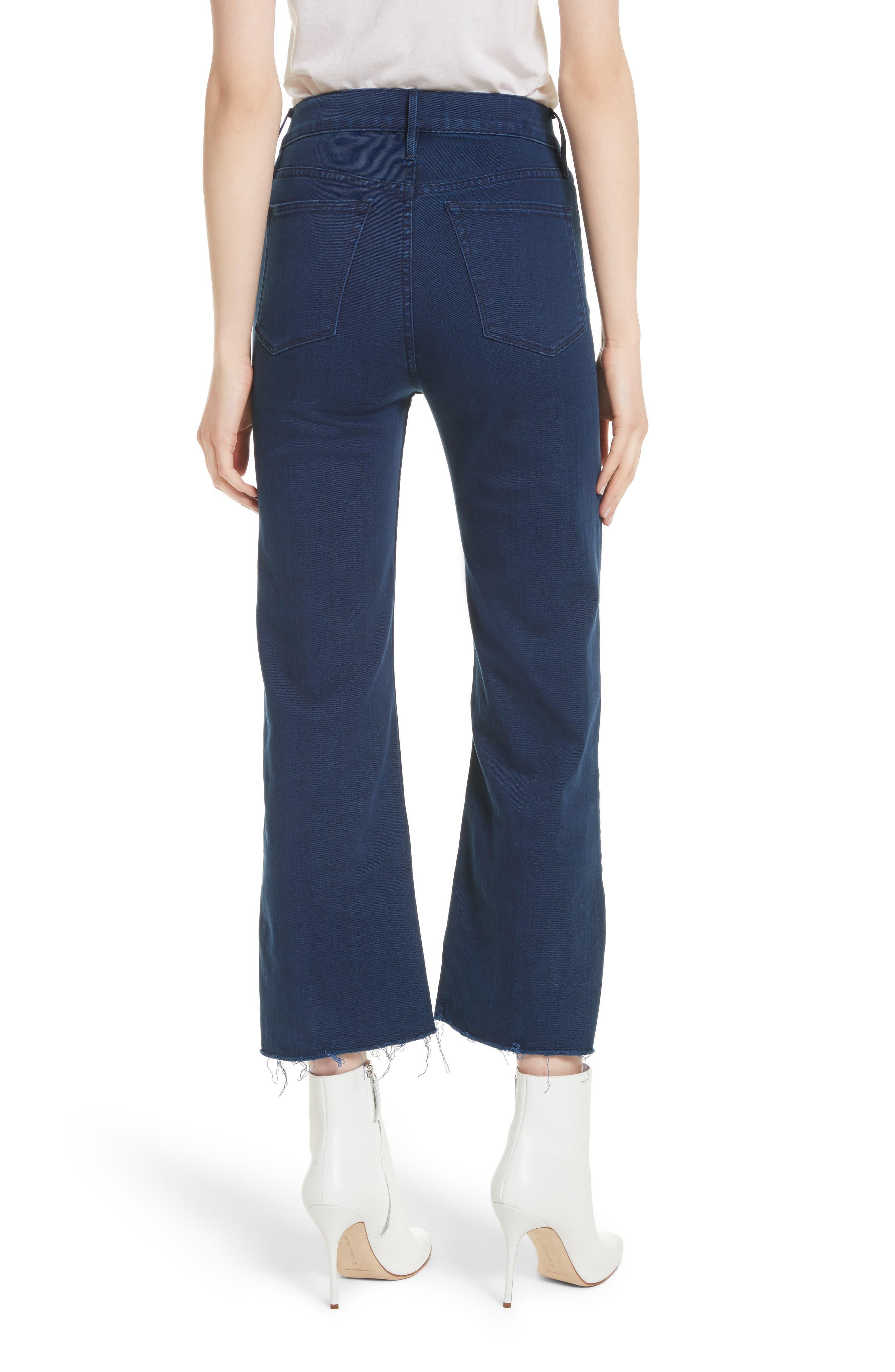 W4 Shelter Crop Wide Leg Jeans,                             Alternate thumbnail 2, color,                             Arrow