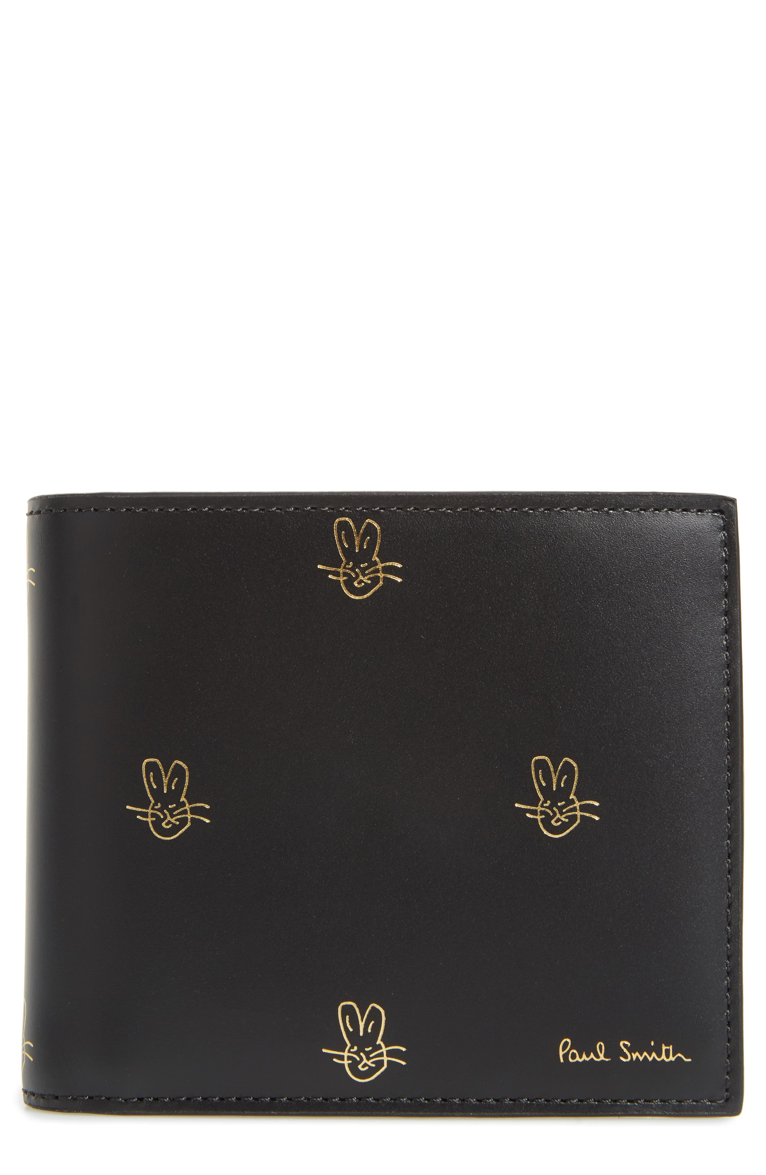 Alternate Image 1 Selected - Paul Smith Doodles Leather Billfold Wallet