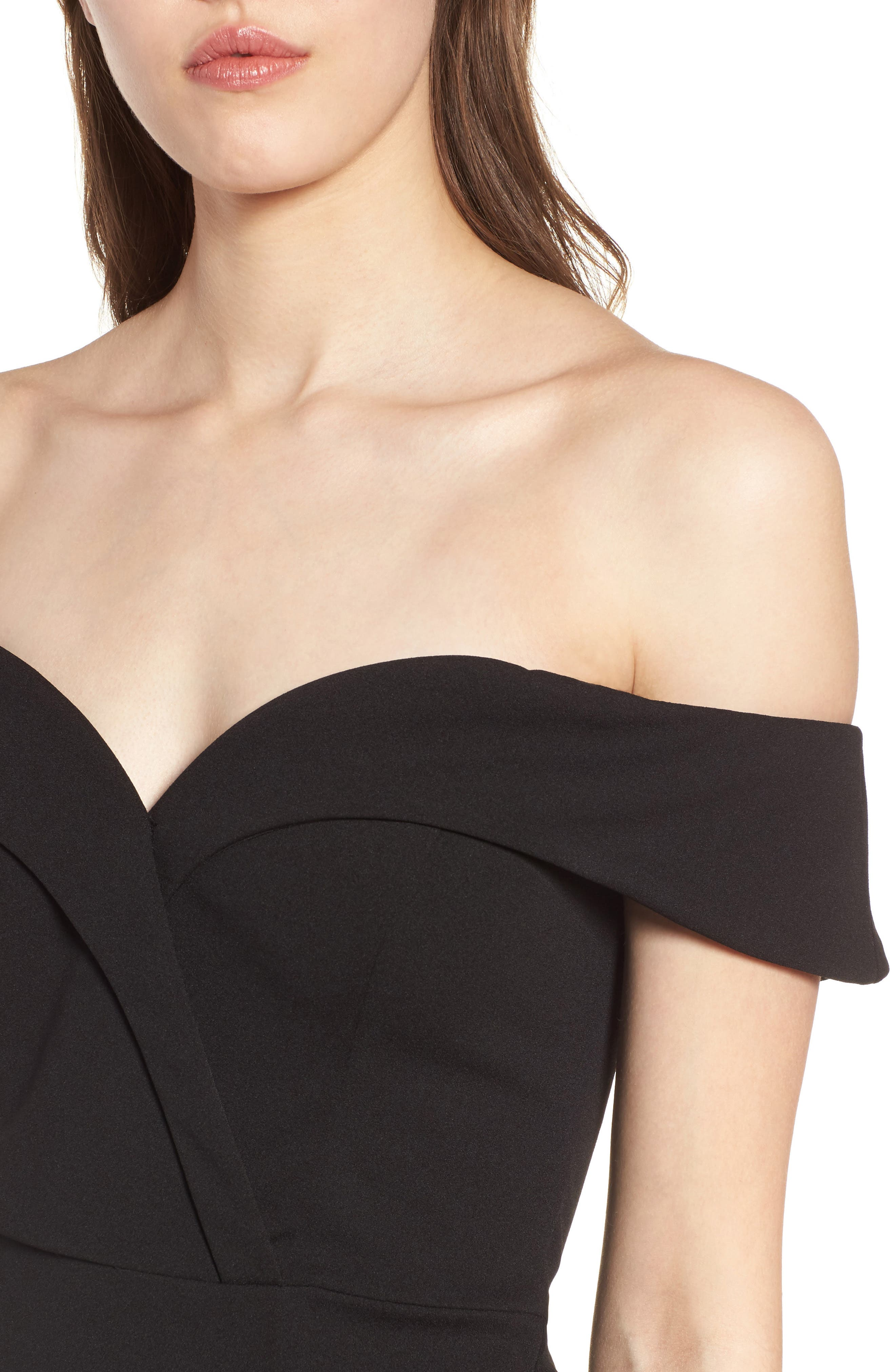 Alternate Image 4  - Speechless Off the Shoulder Body-Con Dress