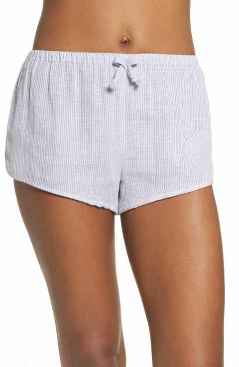 Papinelle Stripe Pajama Shorts